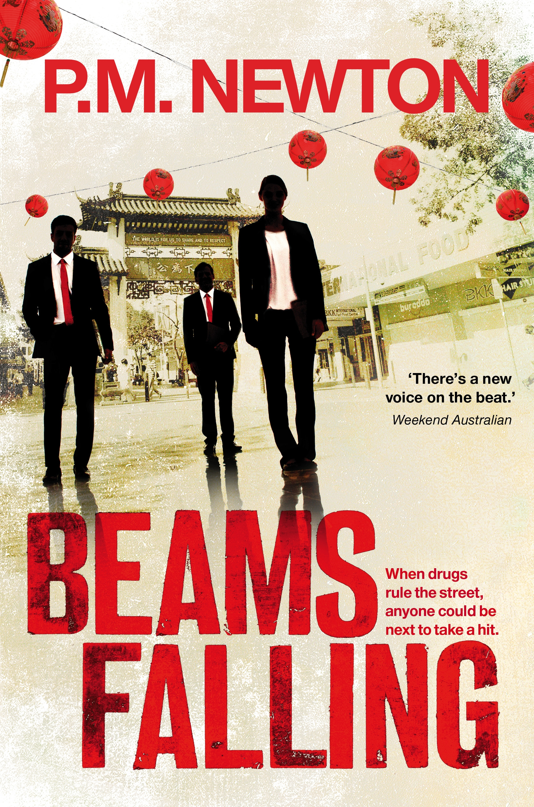 Book Cover:  Beams Falling