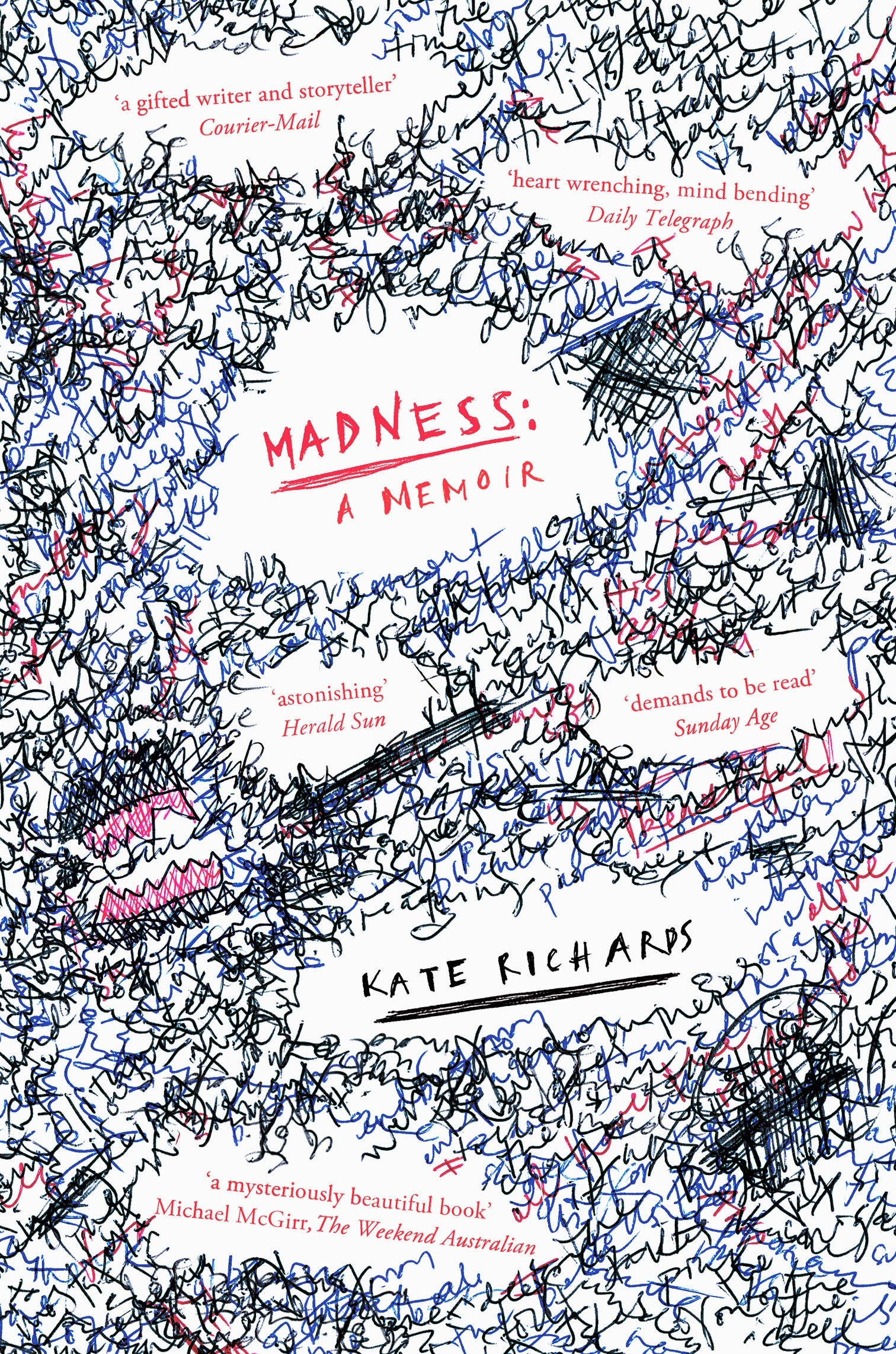 Book Cover:  Madness: a Memoir
