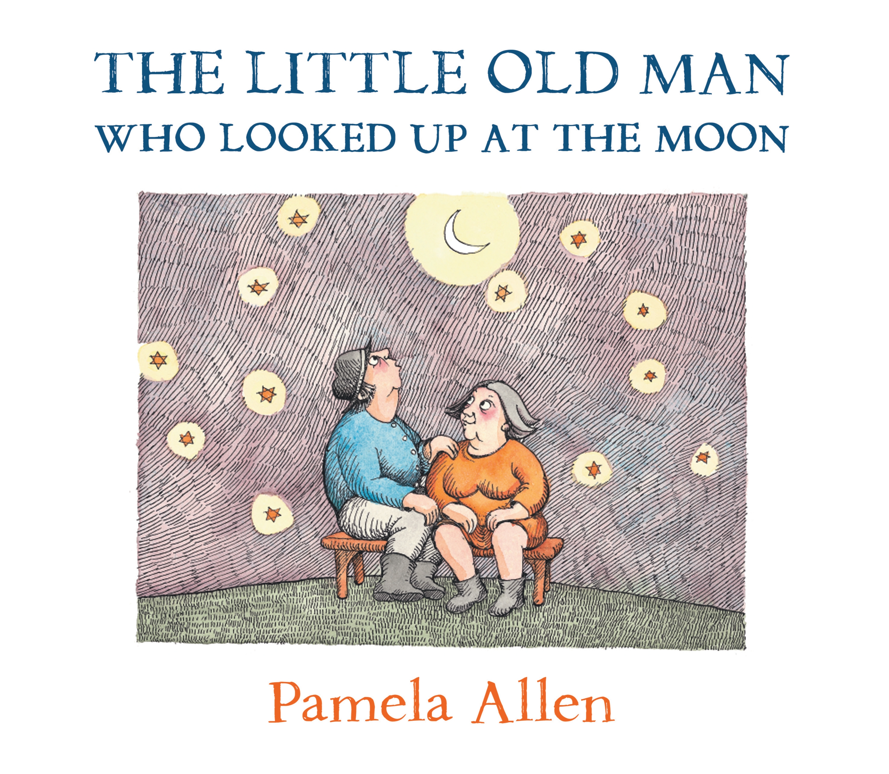 Book Cover: The Little Old Man Who Looked Up At The Moon