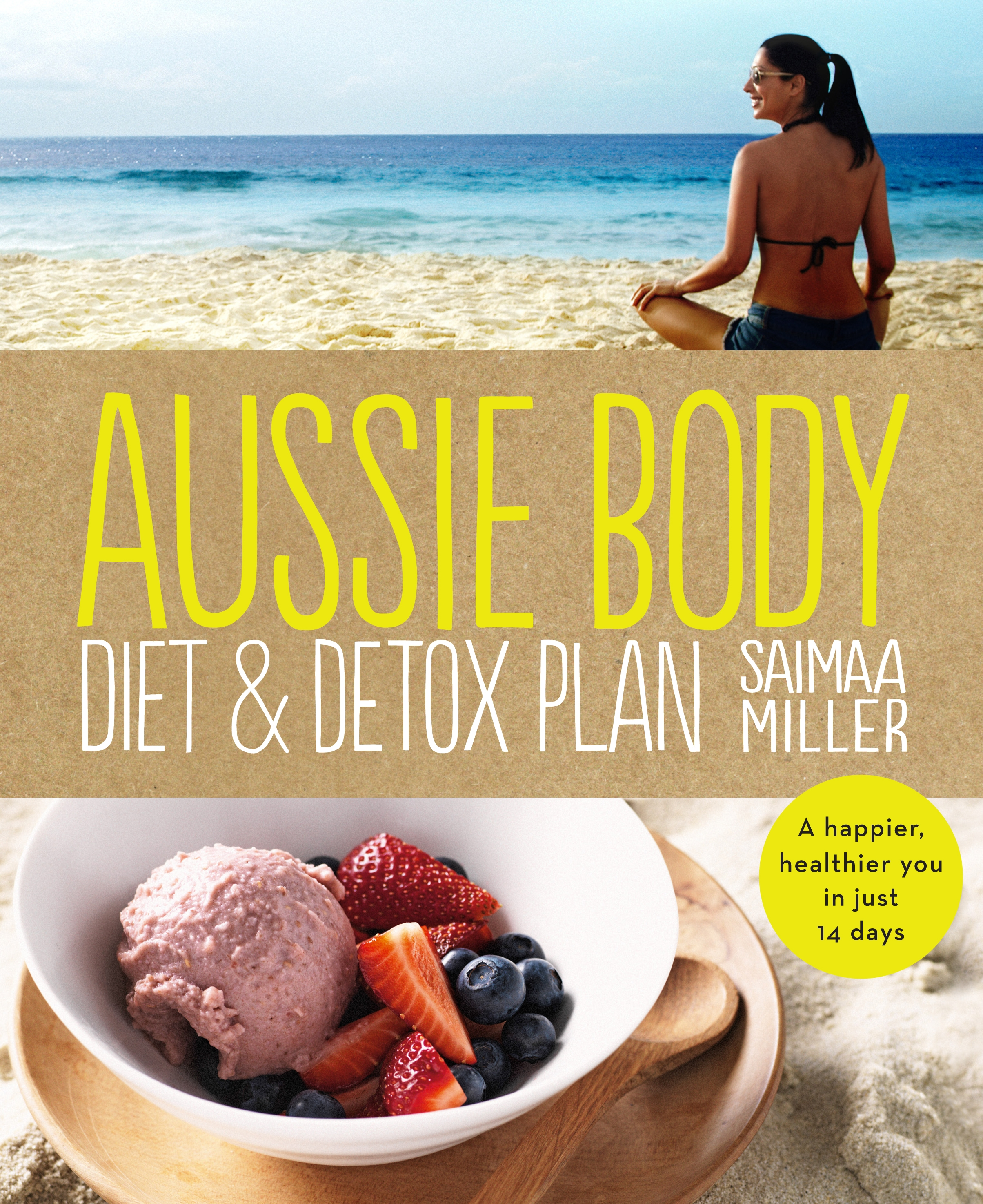 Book Cover:  Aussie Body Diet & Detox Plan