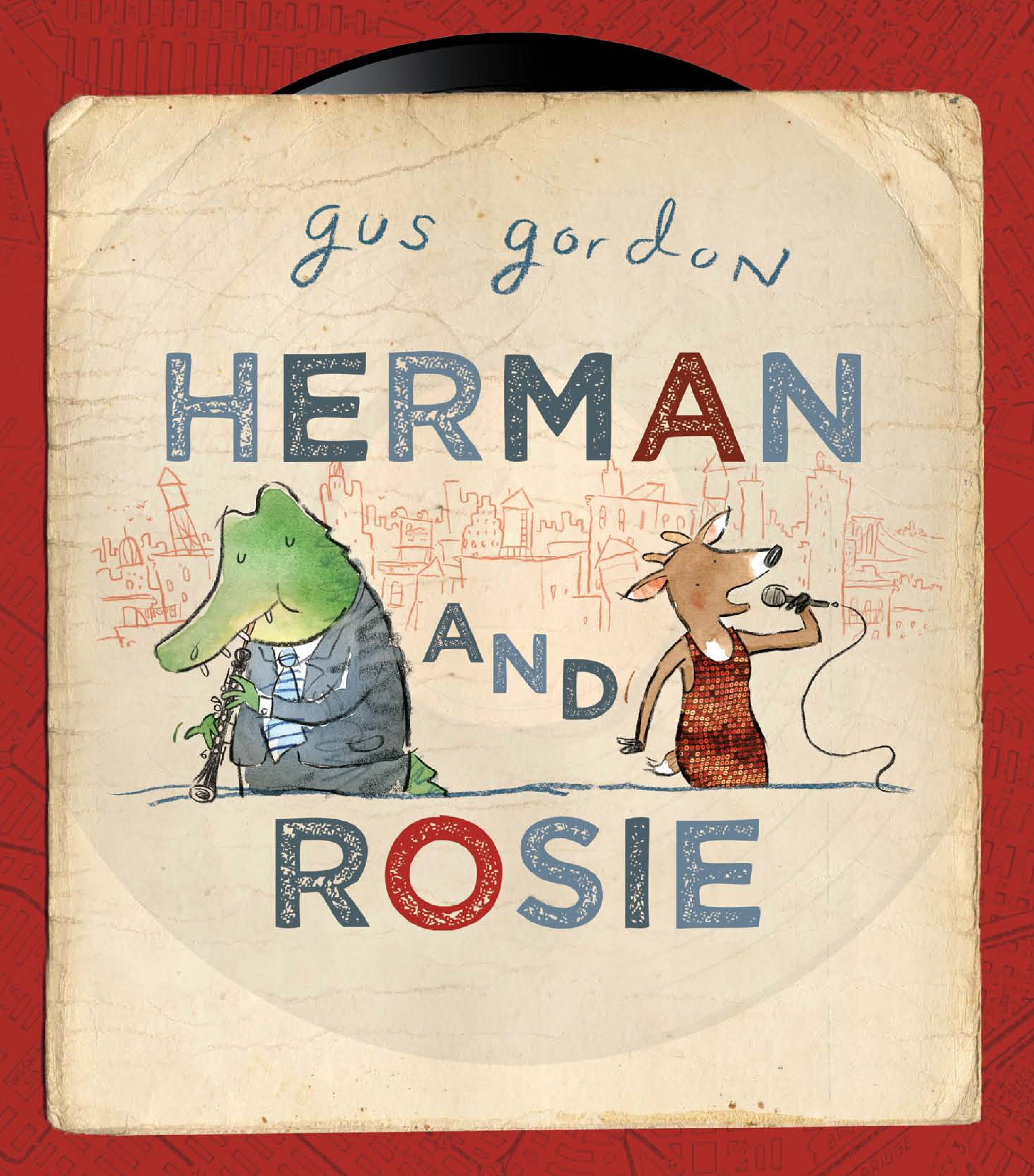 Book Cover:  Herman and Rosie