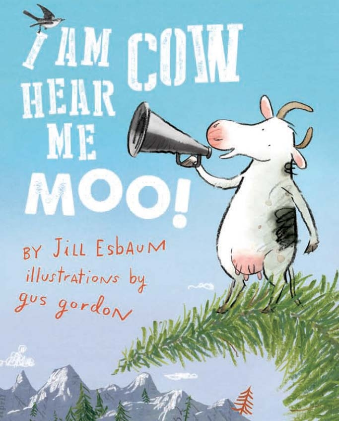 Book Cover:  I Am Cow Hear Me Moo