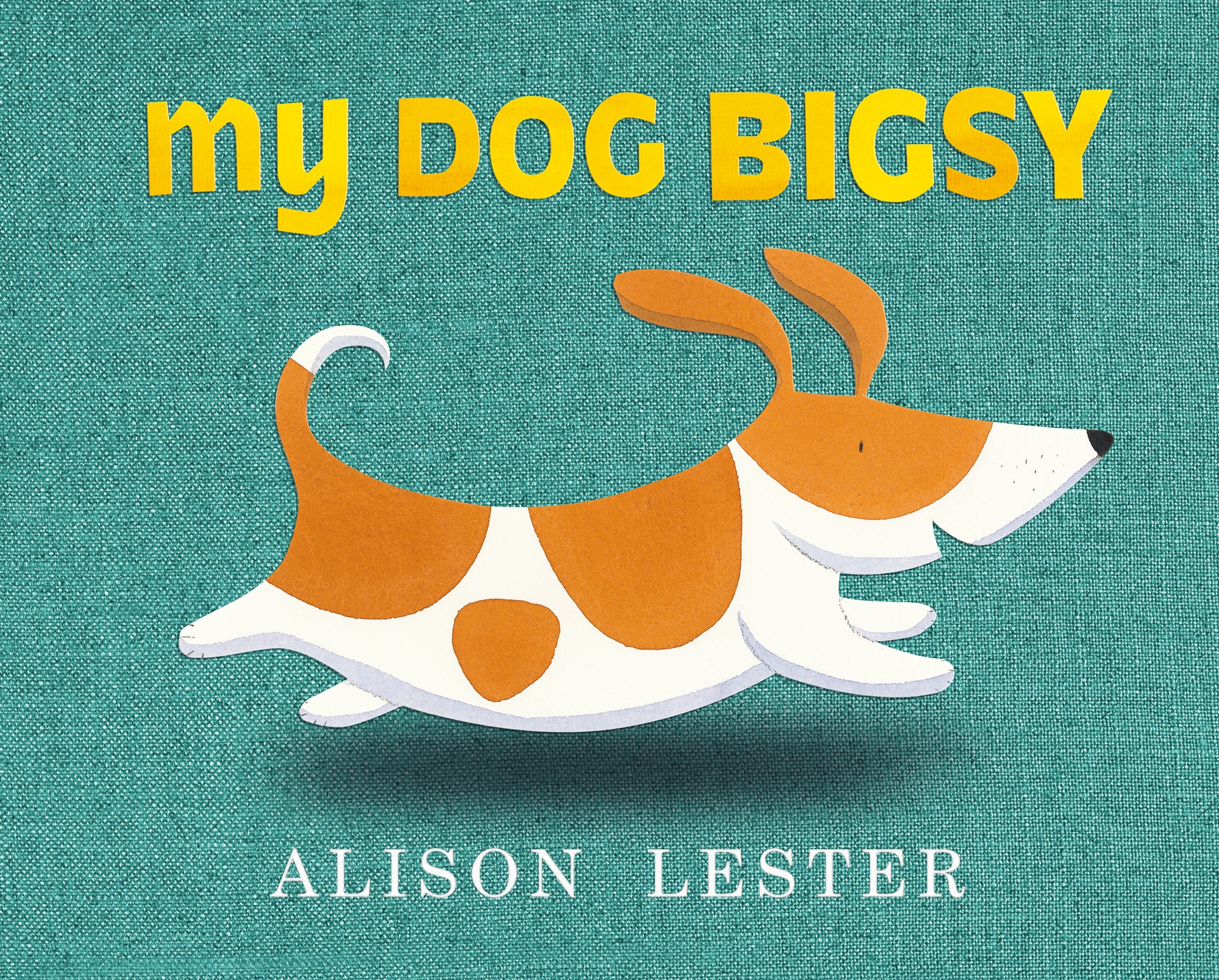 Book Cover:  My Dog Bigsy
