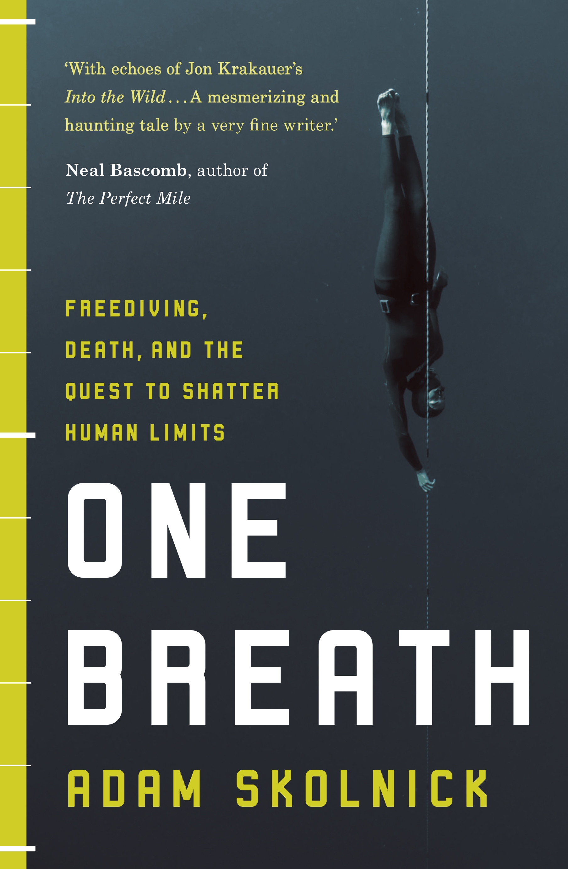 Book Cover Craft Quest ~ One breath freediving death and the quest to shatter