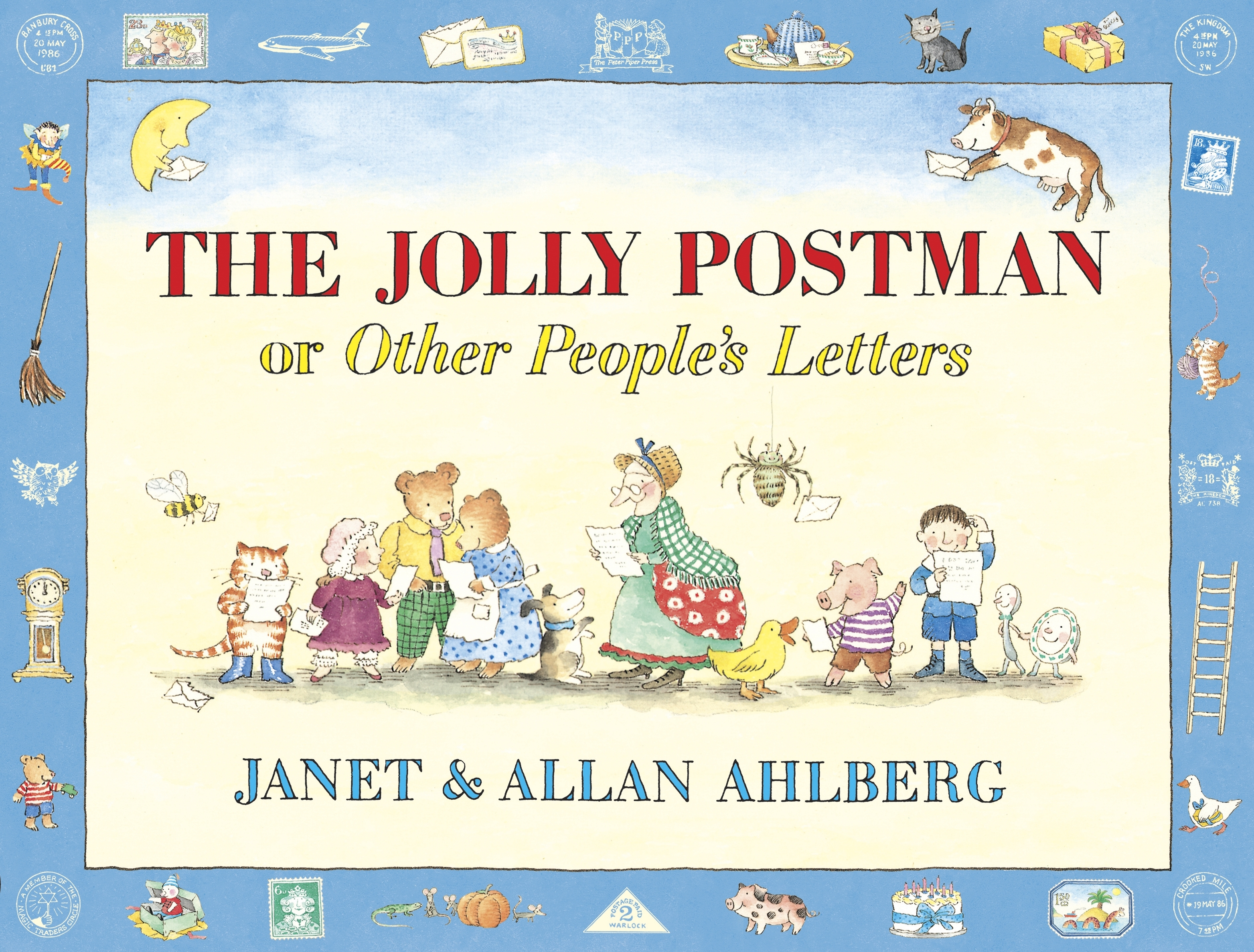 The Jolly Postman Or Other People S Letters Penguin
