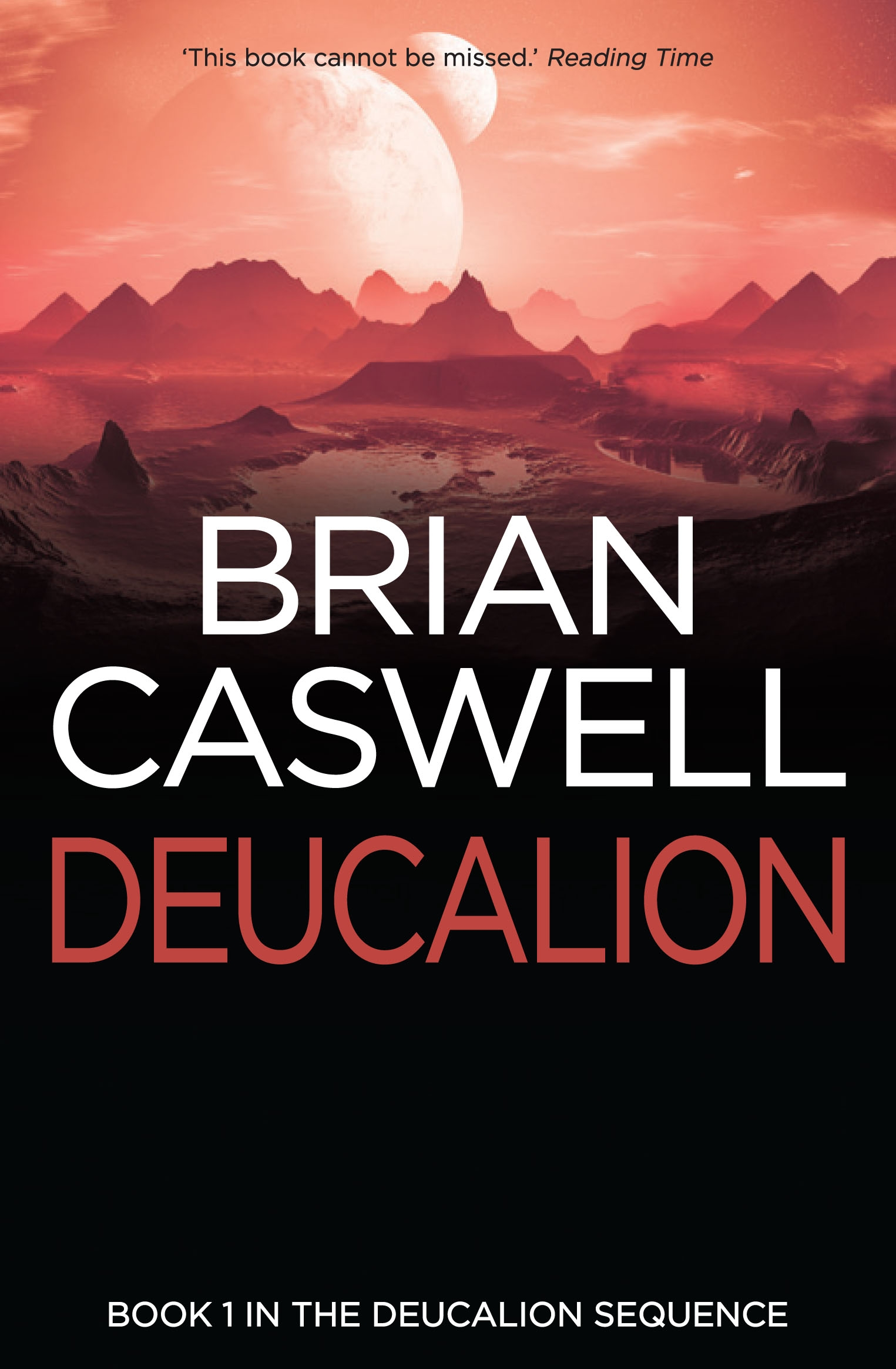 Book Cover:  Deucalion
