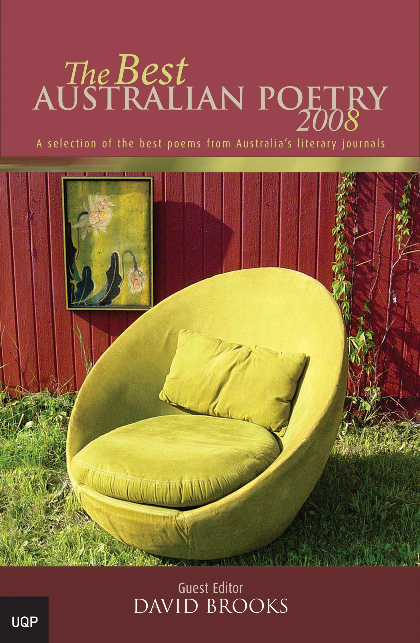 Book Cover:  Best Australian Poetry 2008, The