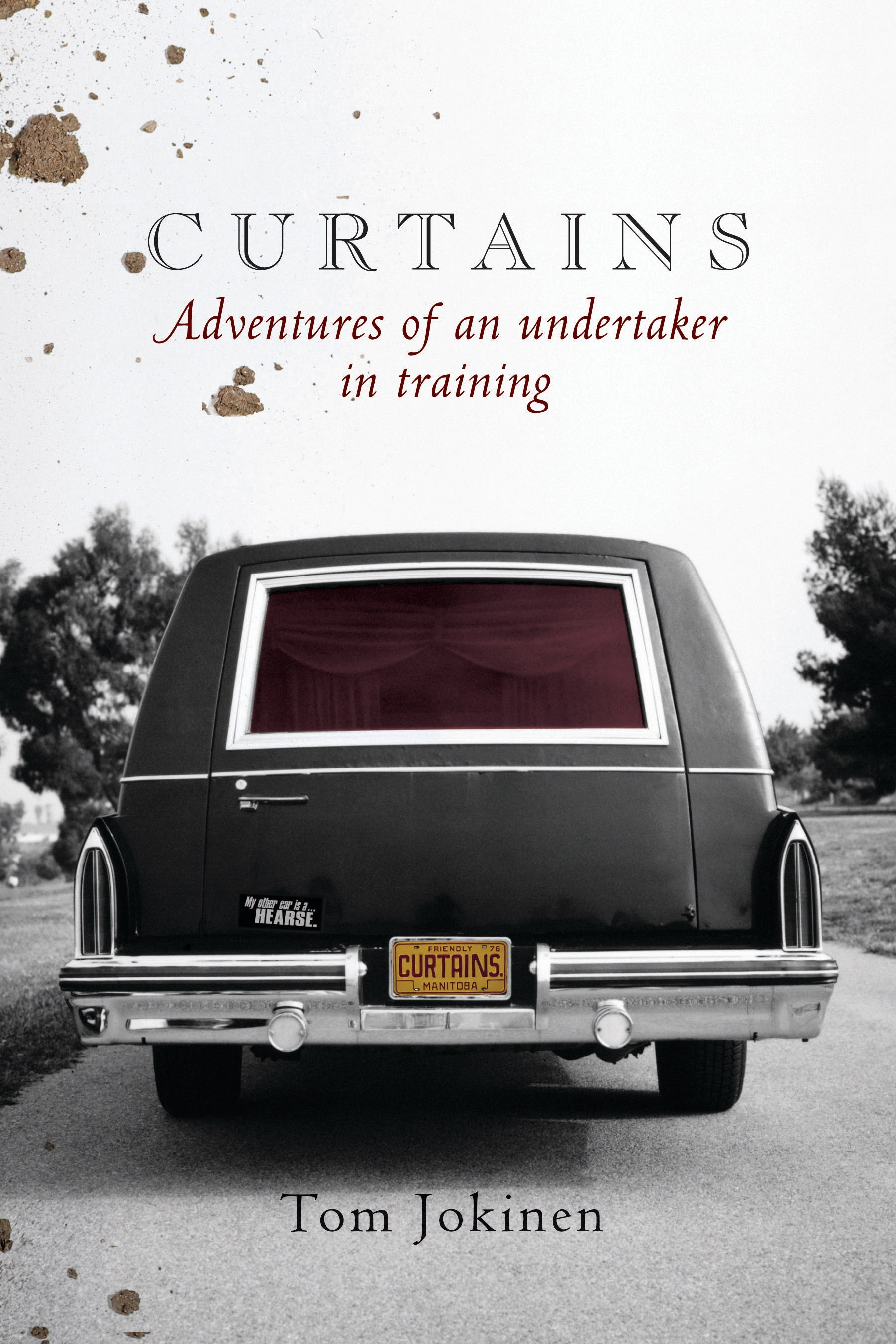 Book Cover:  Curtains: Adventures of an undertaker in training
