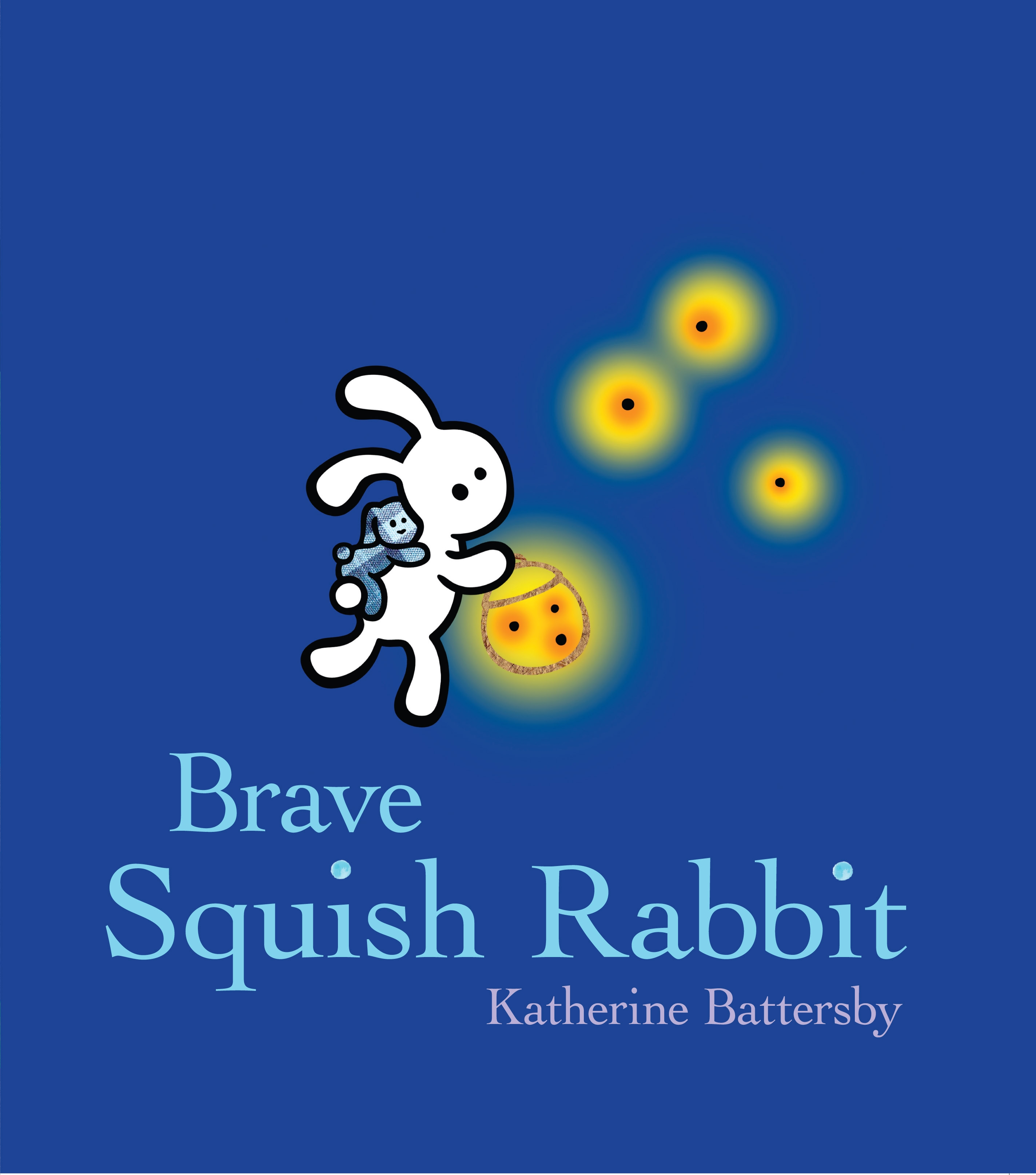 Book Cover:  Brave Squish Rabbit