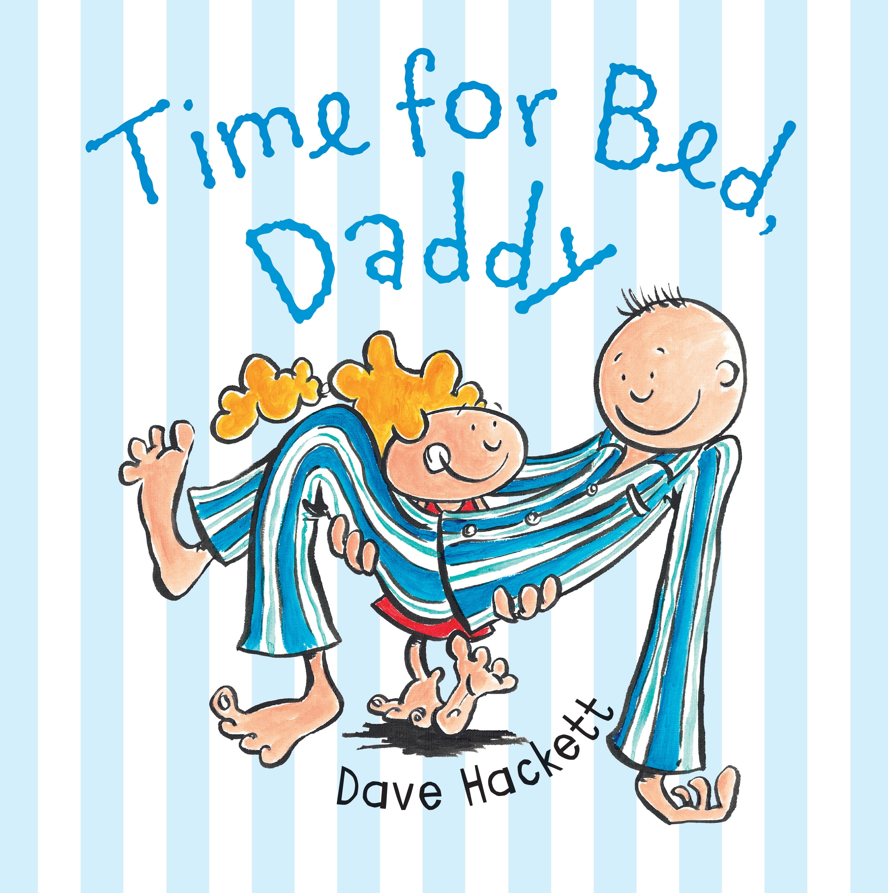 Book Cover:  Time for Bed Daddy