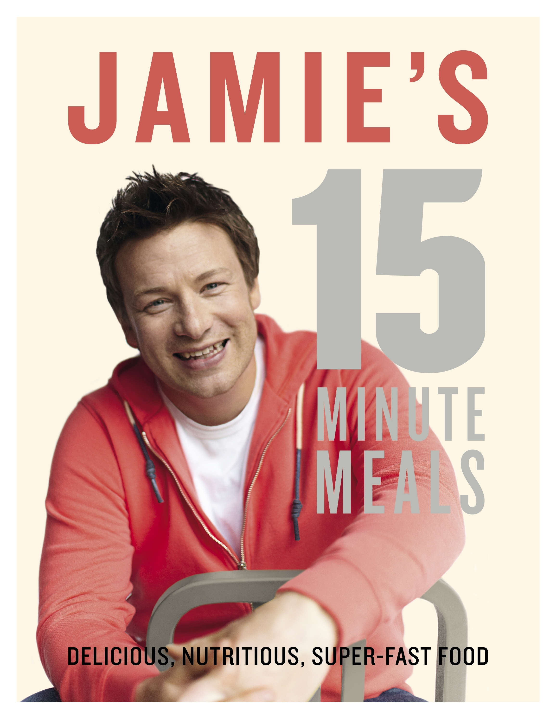Book Cover:  Jamie's 15 Minute Meals