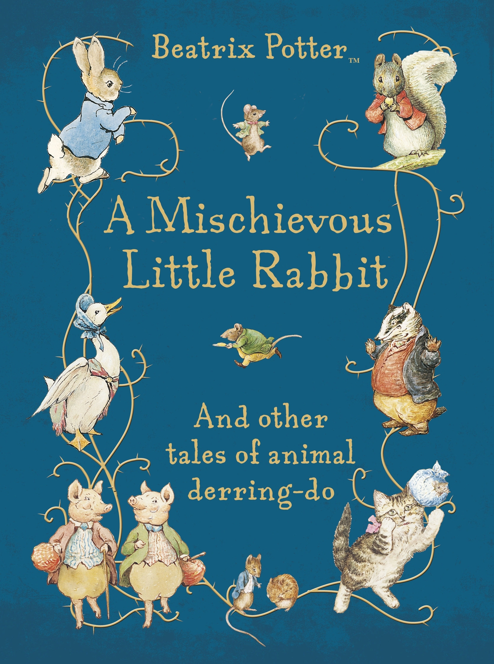 Book Cover: A Mischievous Little Rabbit