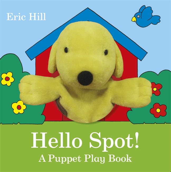 Book Cover:  Hello Spot!: A Puppet Play Book