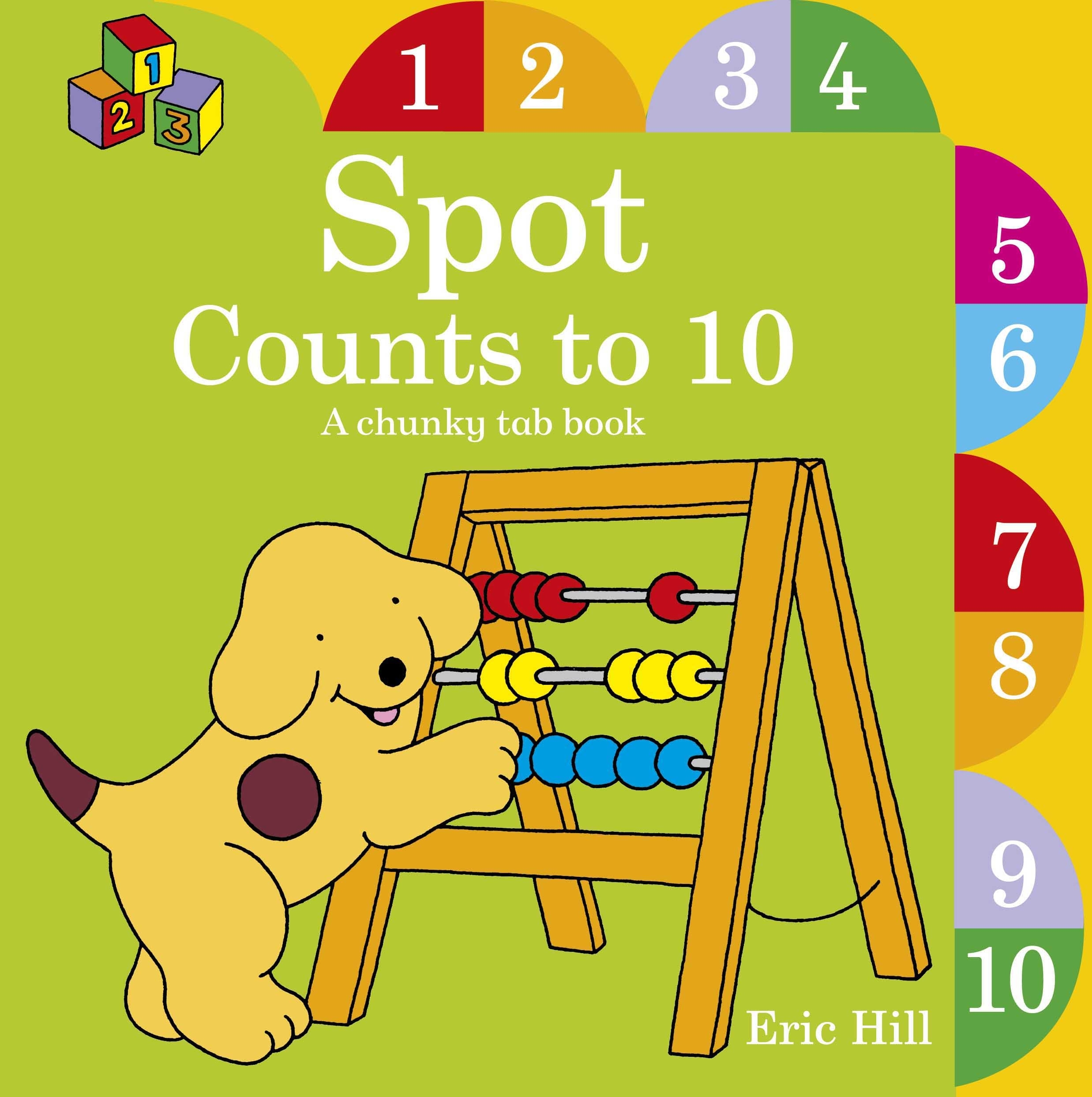 Book Cover:  Spot Counts To 10