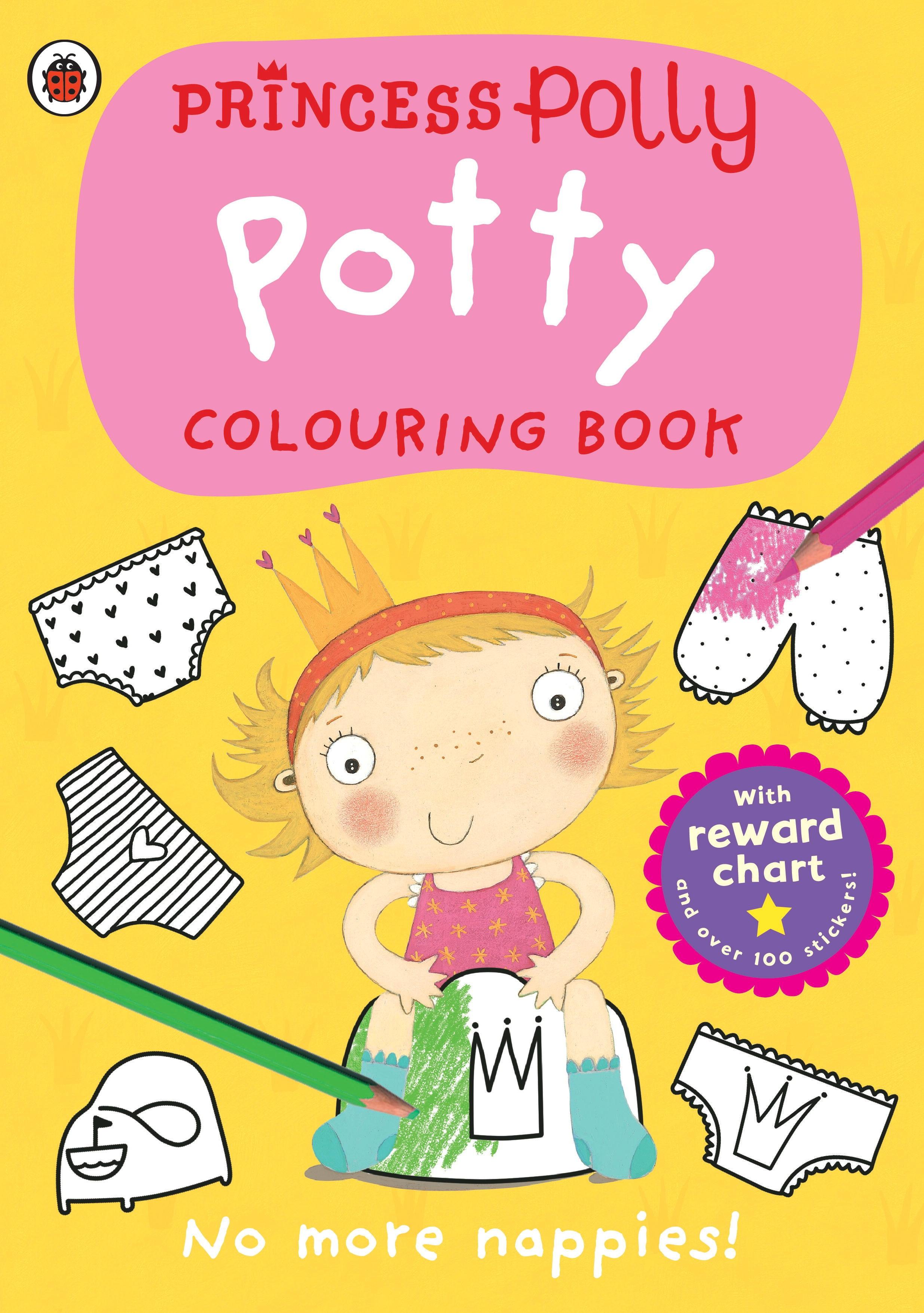 princess polly potty colouring book penguin books princess polly potty colouring book