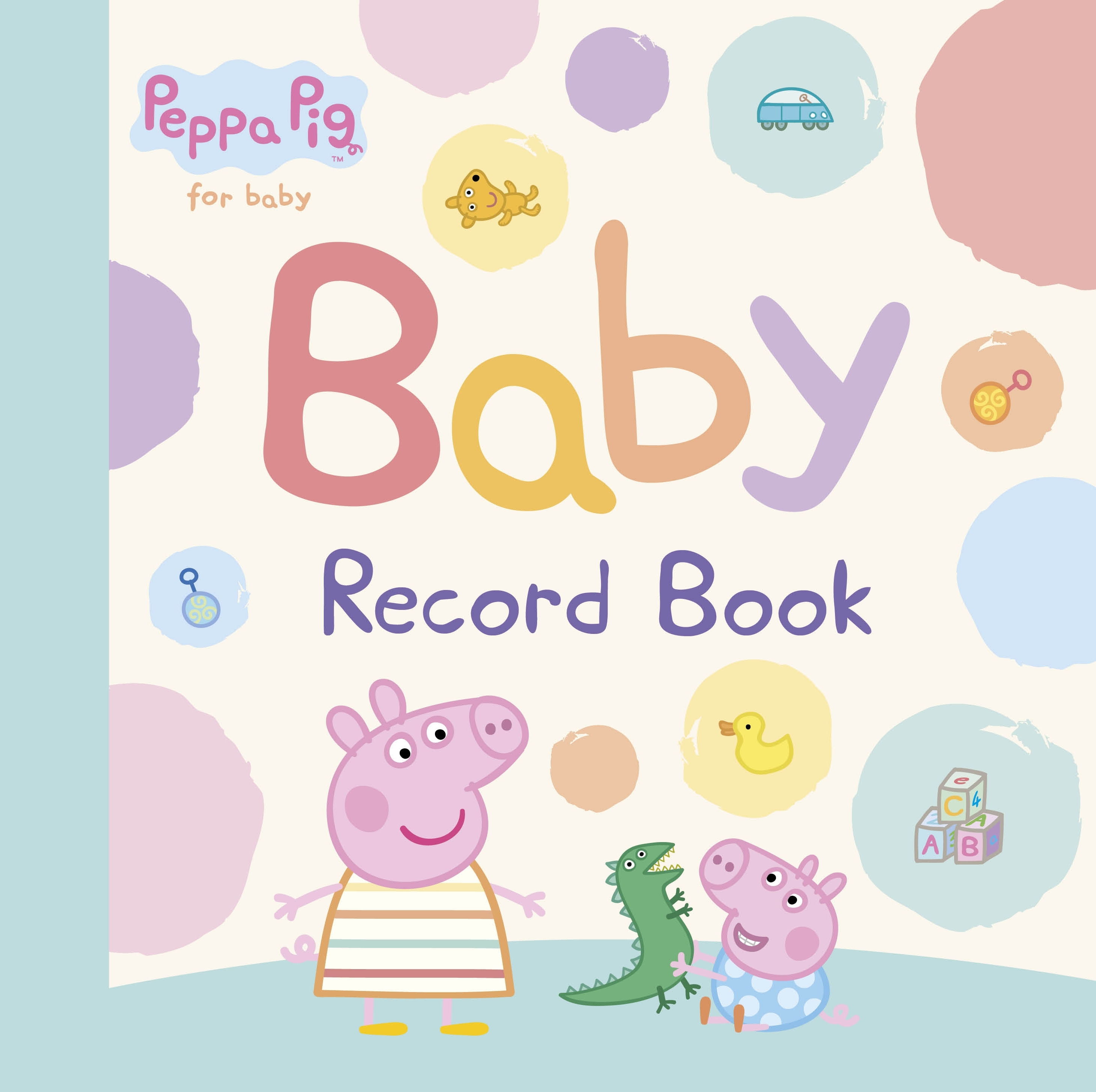 Picture of Peppa Pig: Baby Record Book