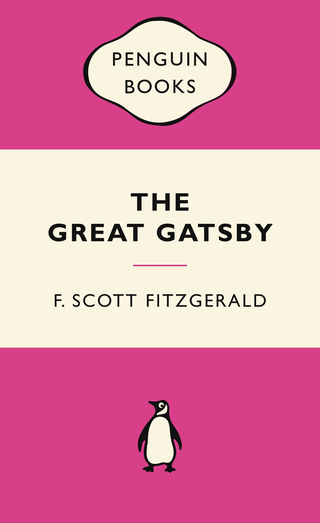 Book Cover: The Great Gatsby: Pink Popular Penguins
