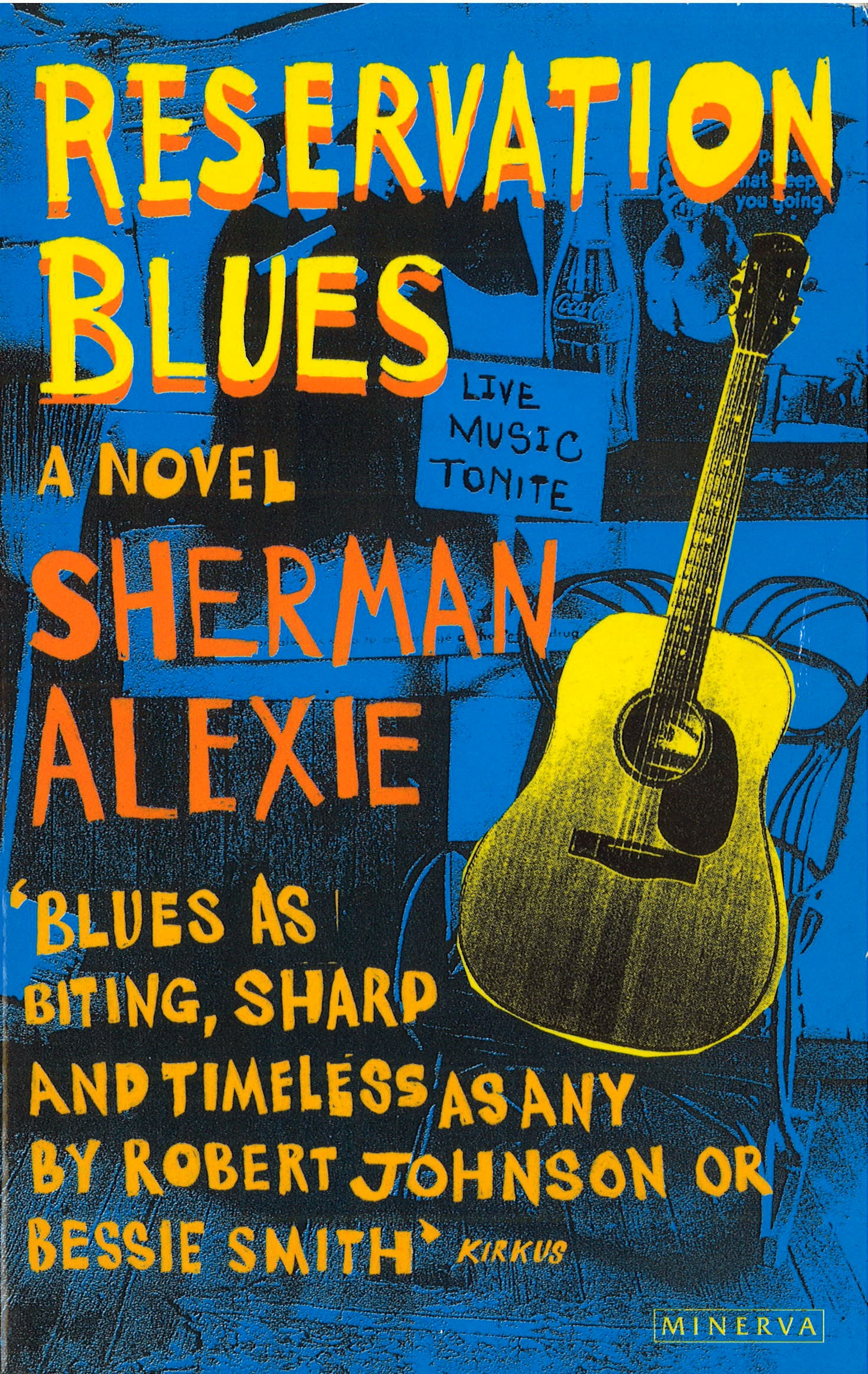 reservation blues by sherman alexie essay Reservation blues essay questions by sherman alexierobert johnson was an african-american man who lived at the beginning of the 20th century and who is commonly associated with blues music essay on music .