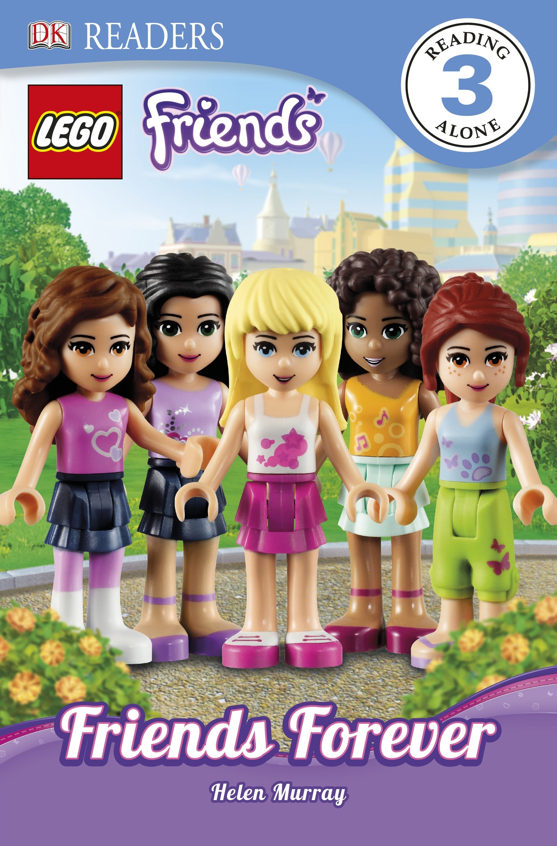 Book Cover:  DK Readers: Level 3: LEGO® Friends: Friends Forever