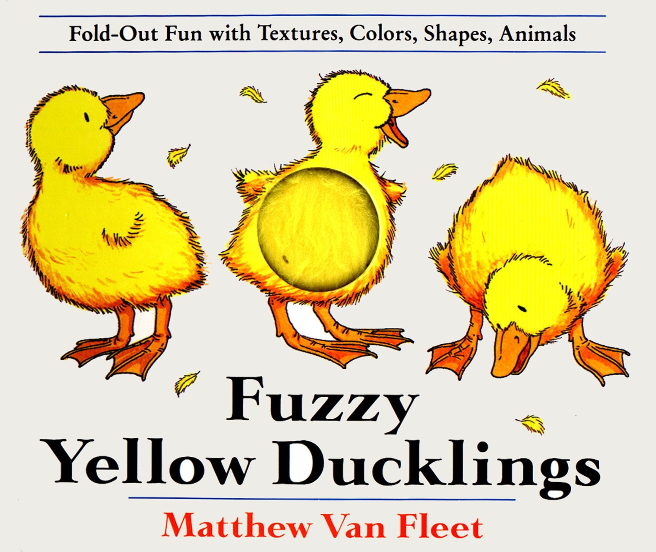 Book Cover:  Fuzzy Yellow Ducklings: Fold-out Fun With Textures, Colors, Shapes, Animmals