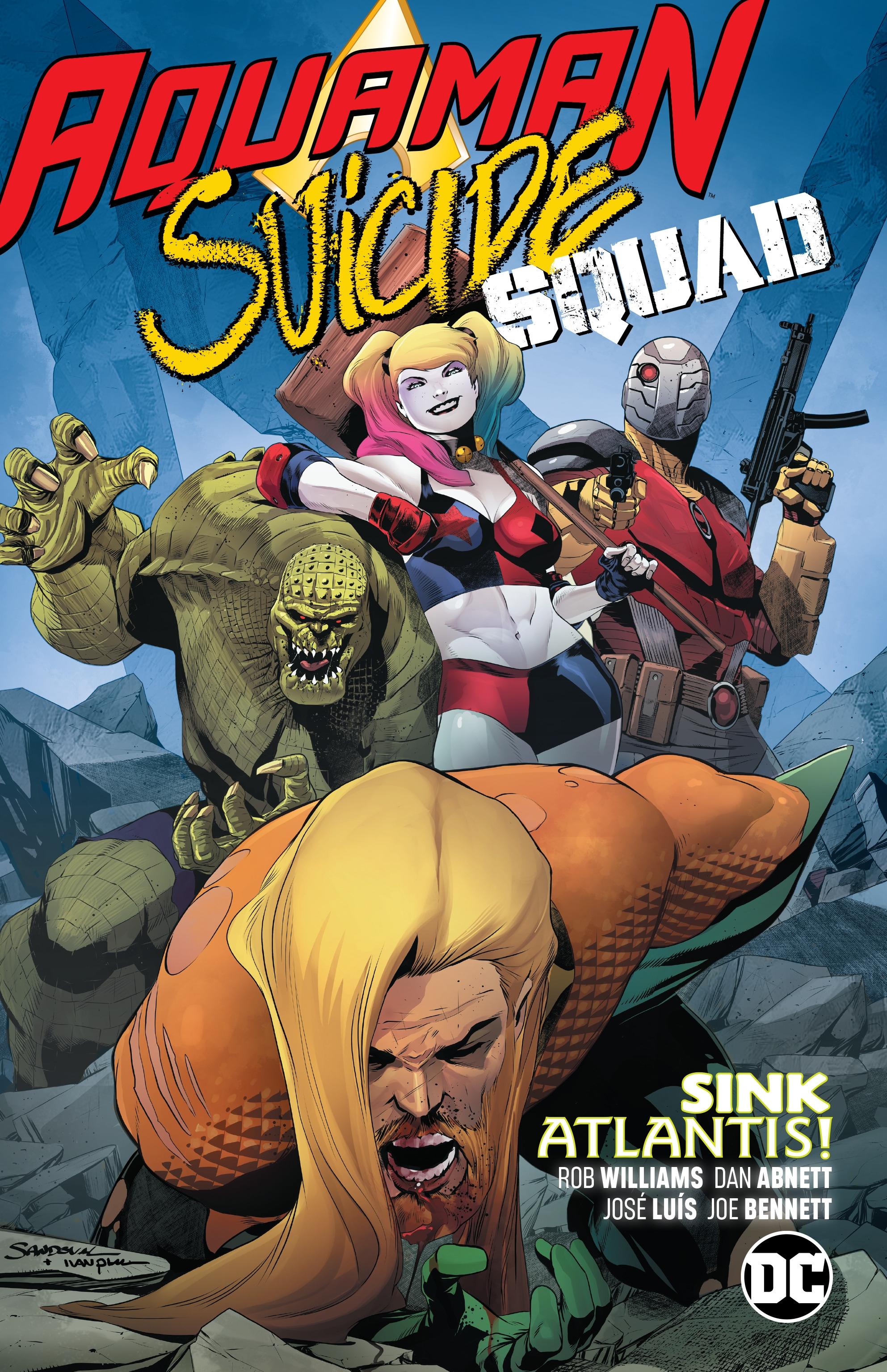 Aquaman/Suicide Squad Sink Atlantis