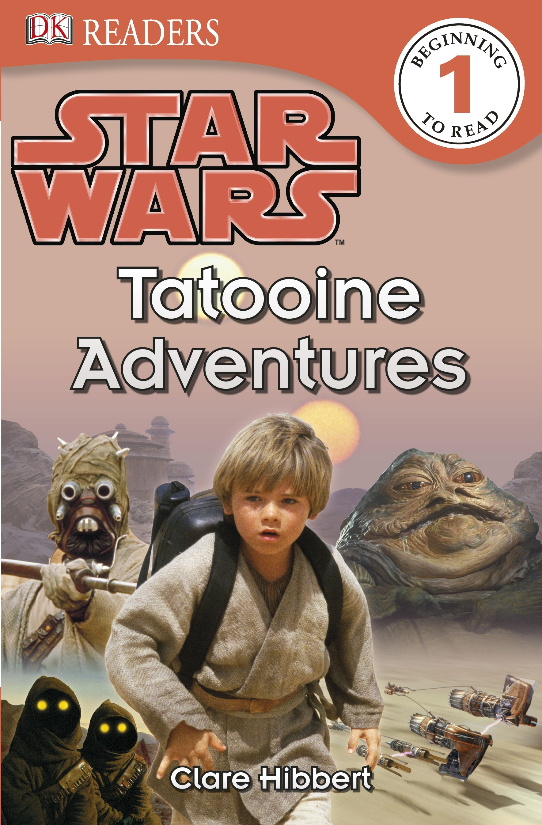 Book Cover:  Dk Readers: Level 1: Star Wars: Tatooine Adventures