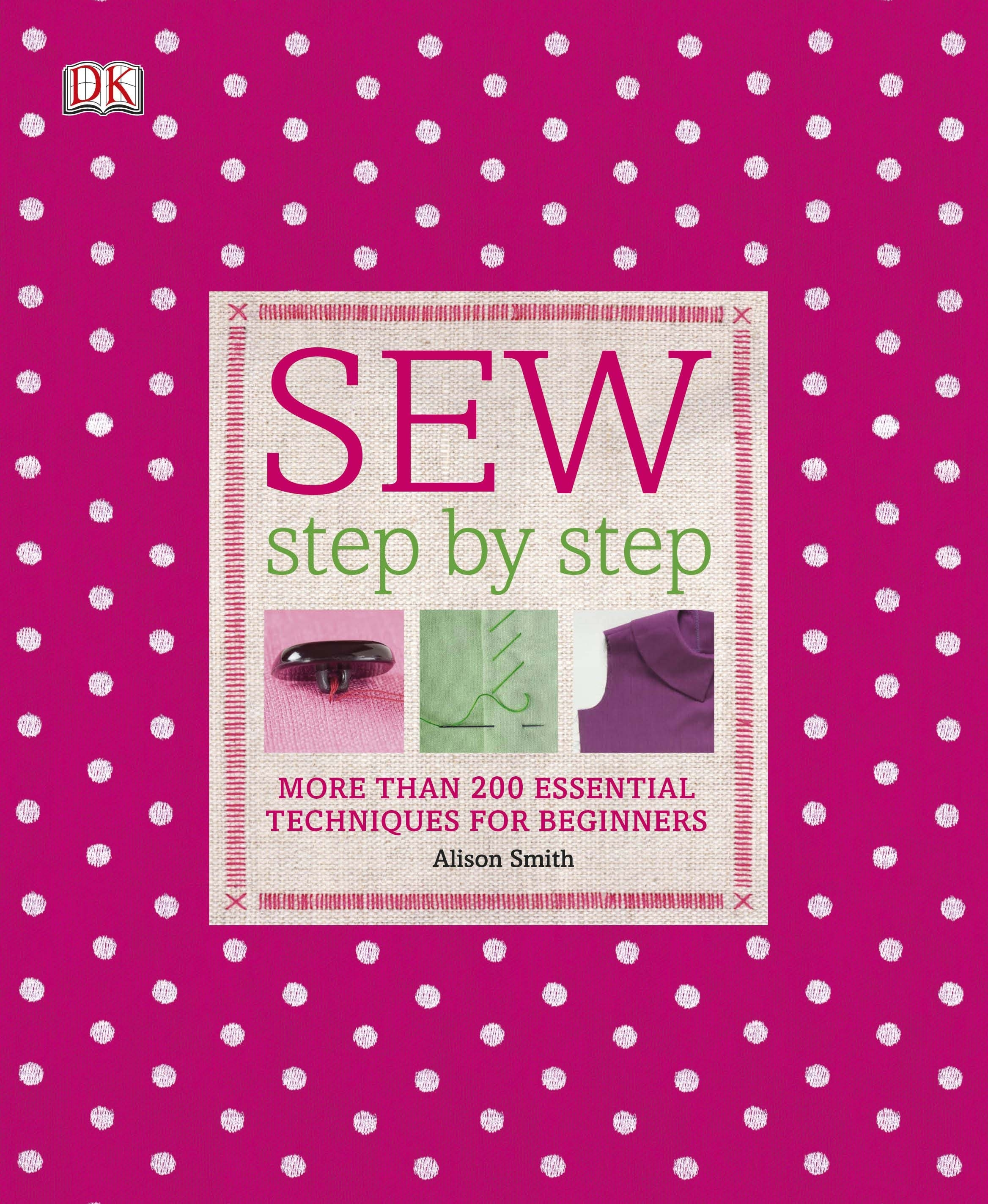 Book Cover:  Step By Step: Sew