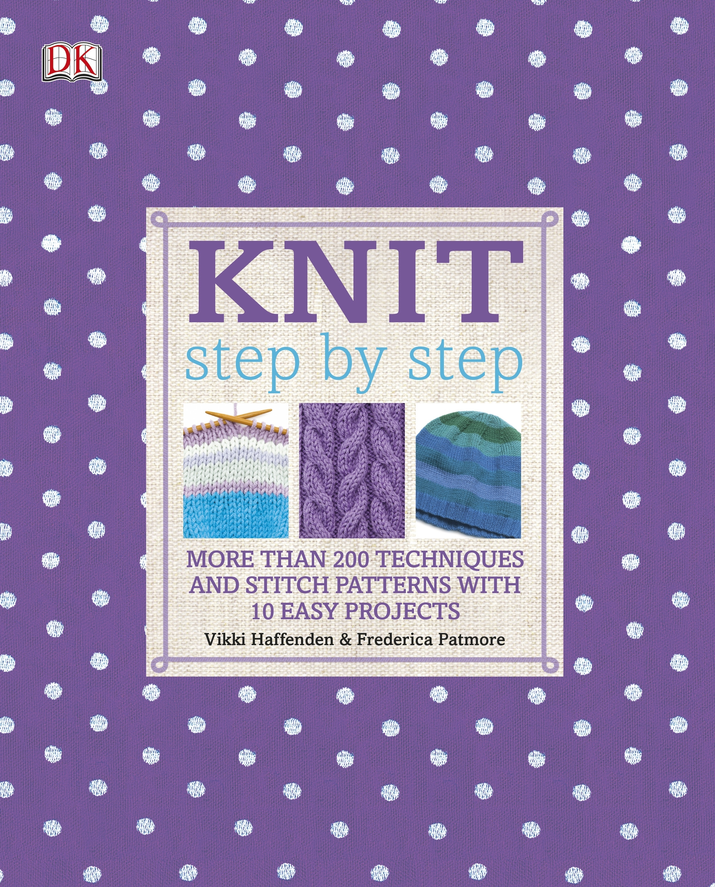Book Cover:  Step By Step: Knit