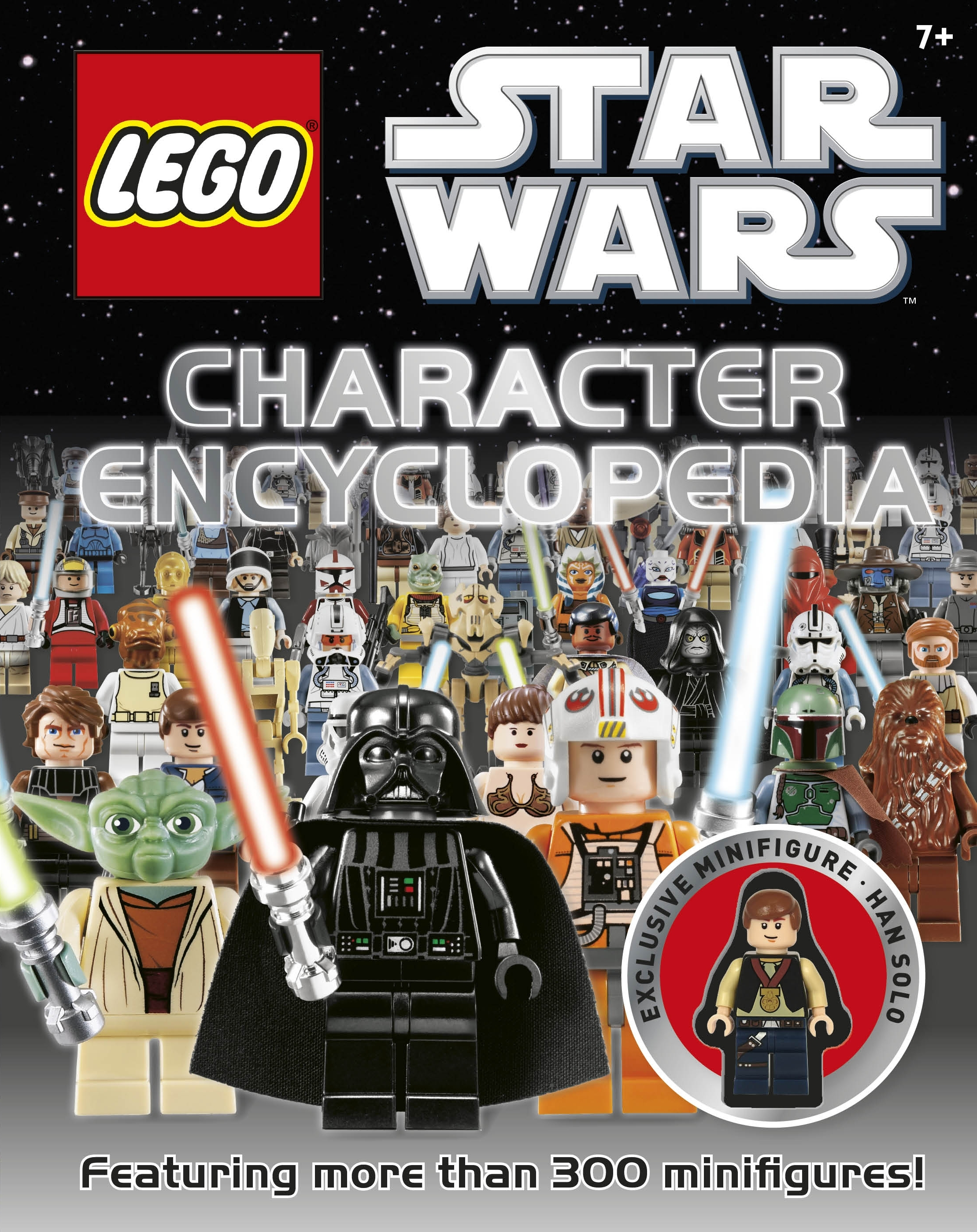 Book Cover:  LEGO® Star Wars: Character Encyclopedia with Minifigure
