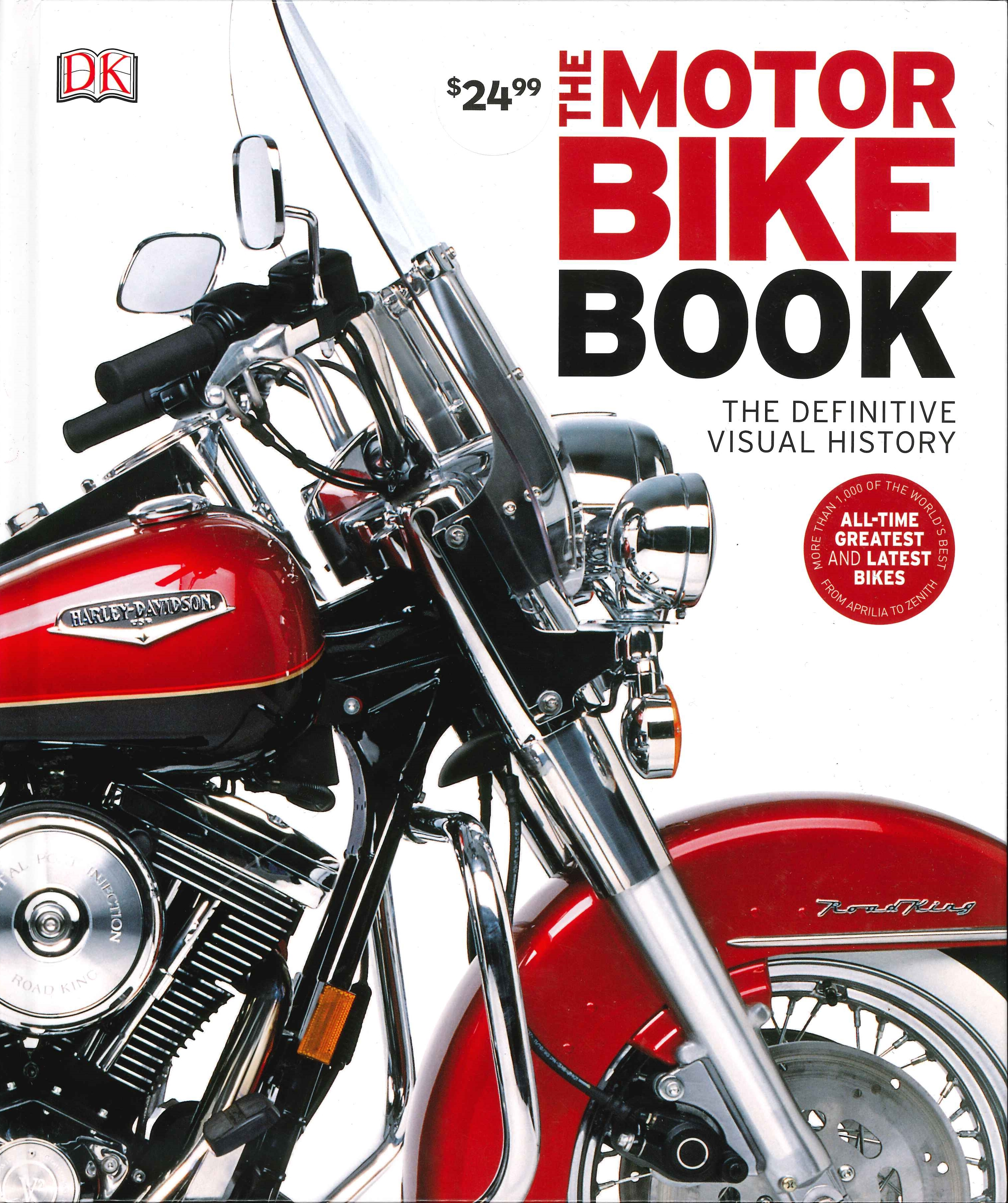 Book Cover: The Motorbike Book: Definitive Visual History
