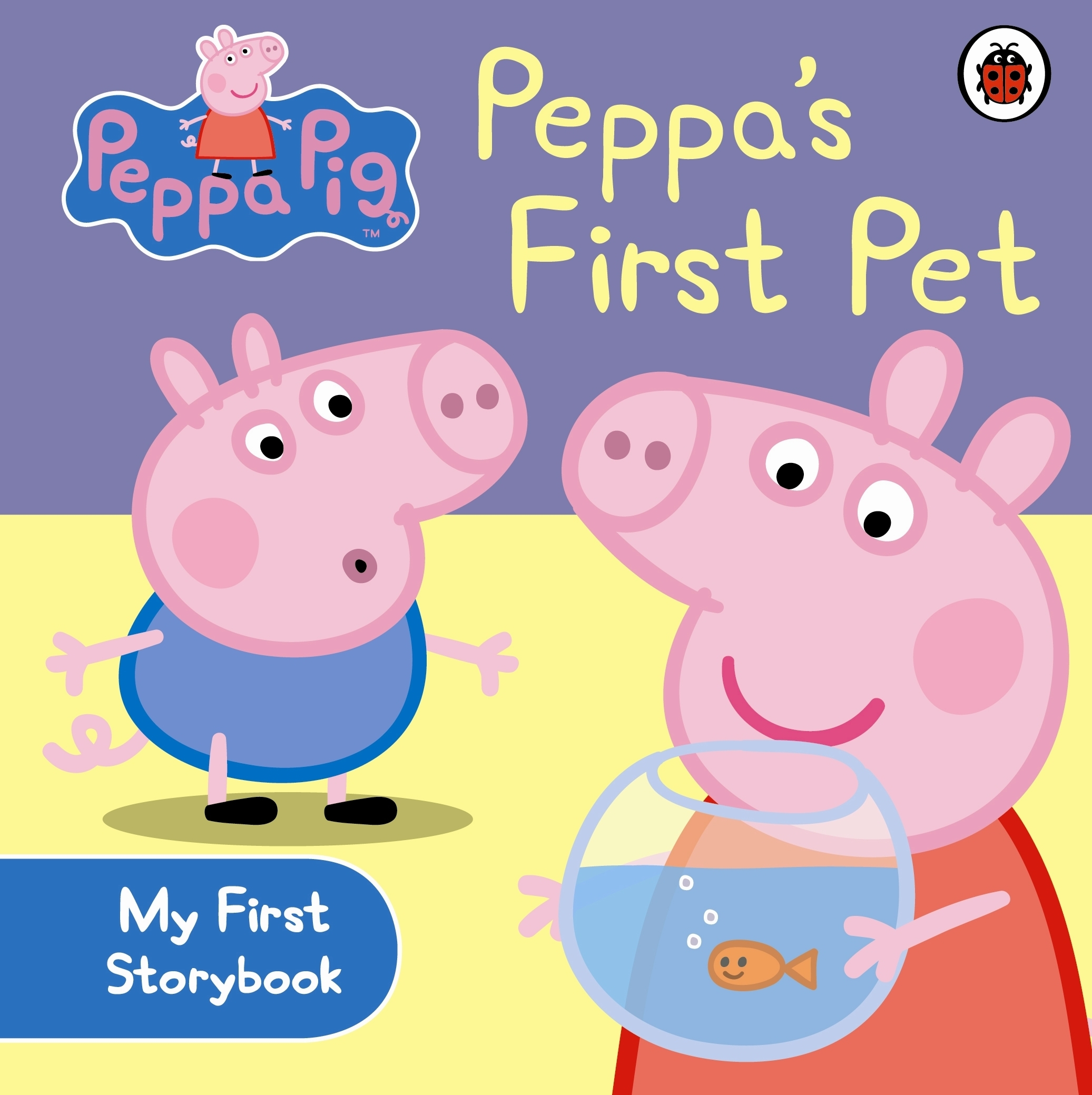 Book Cover:  Peppa Pig: Peppa's First Pet
