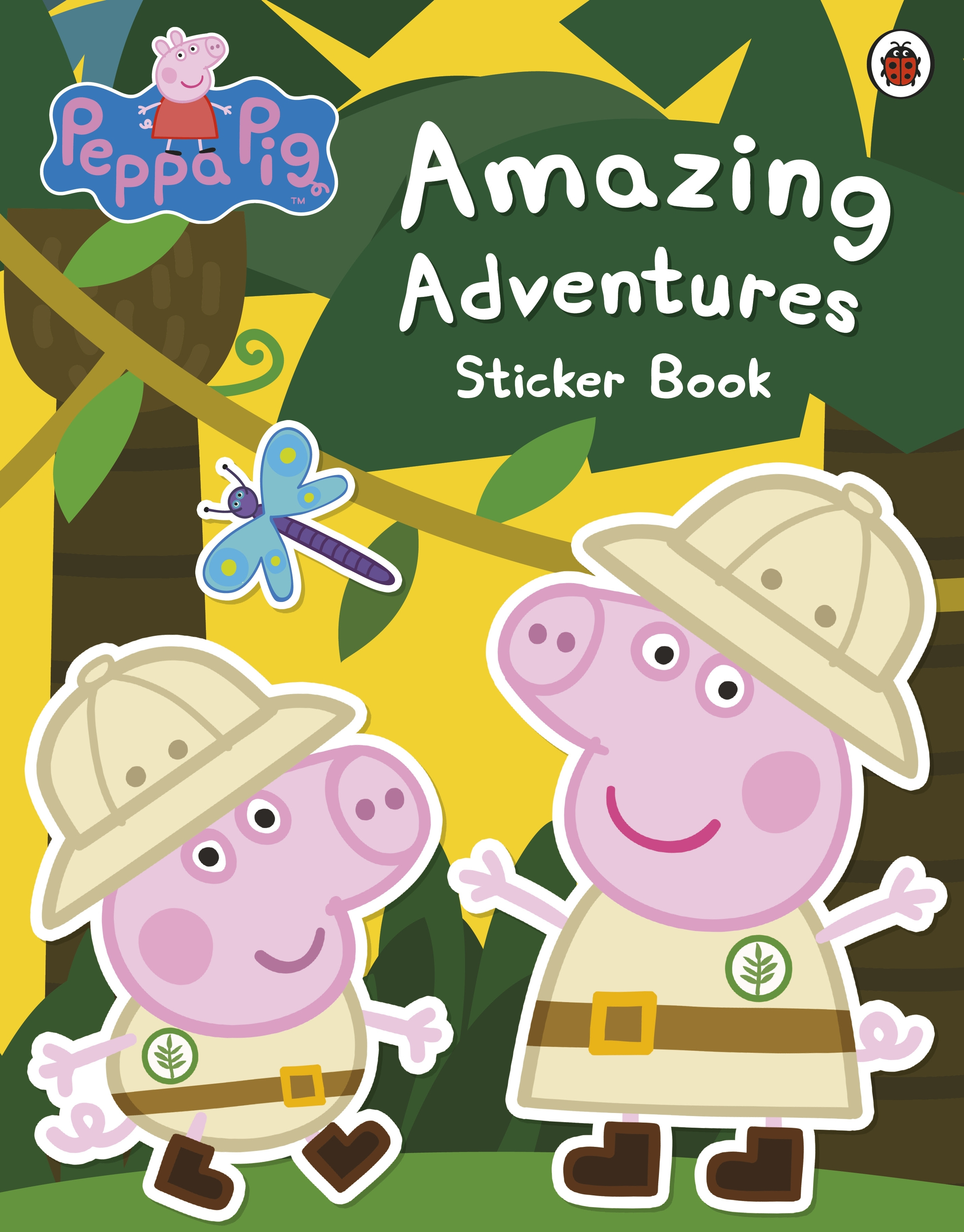 Picture of Peppa Pig: Amazing Adventures Sticker Book