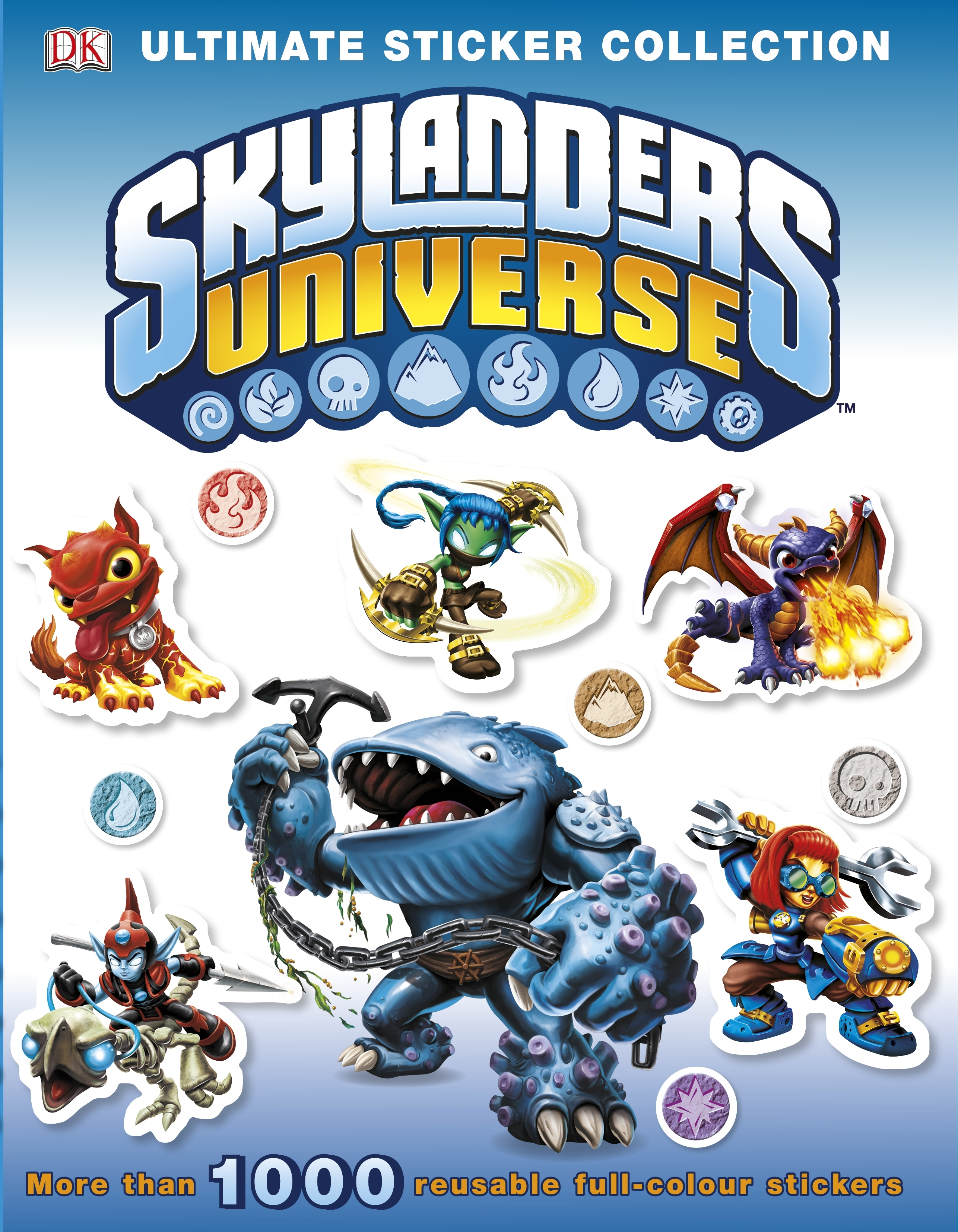 Book Cover:  Skylanders Universe: Ultimate Sticker Collection