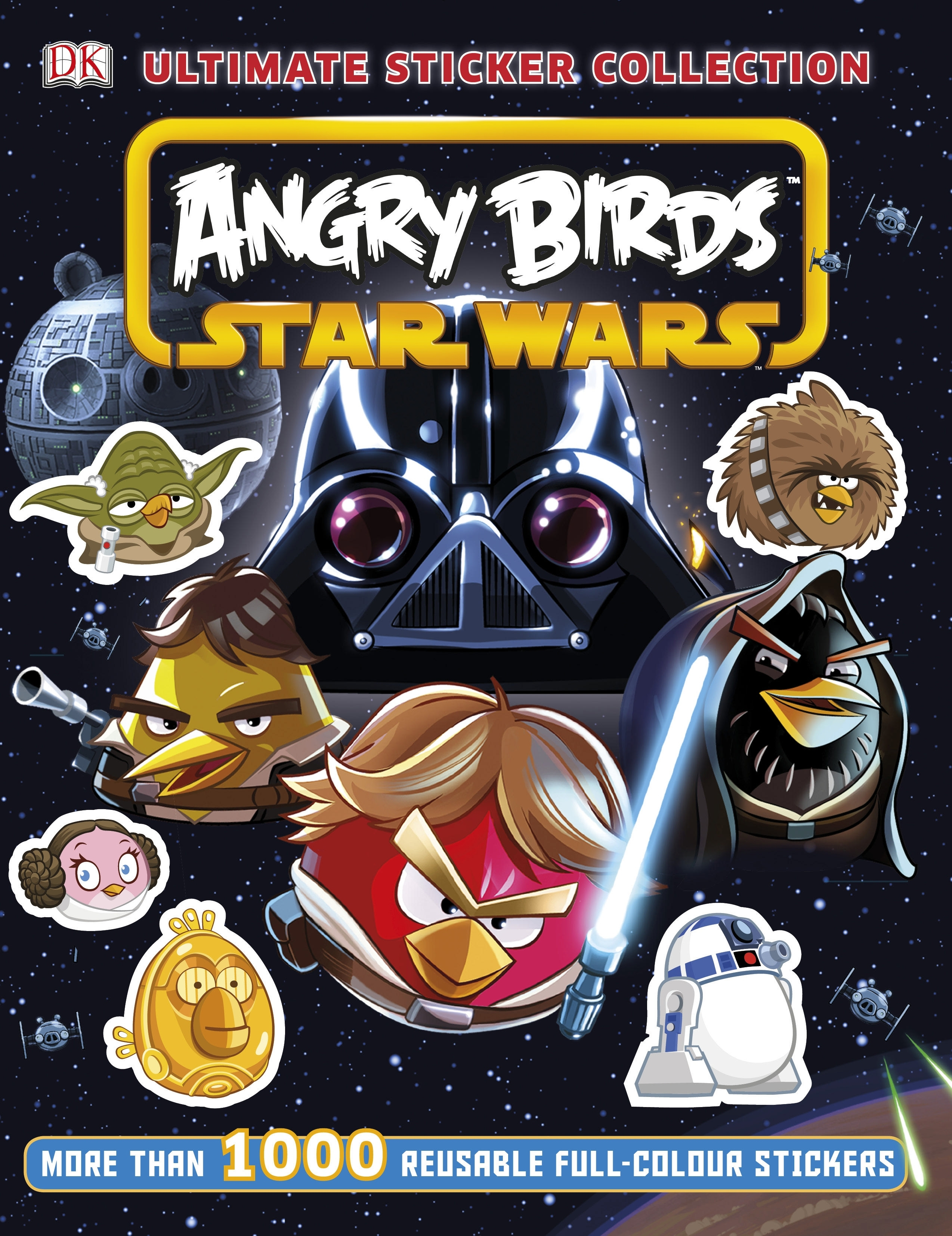 Book Cover:  Angry Birds: Star Wars: Ultimate Sticker Collection