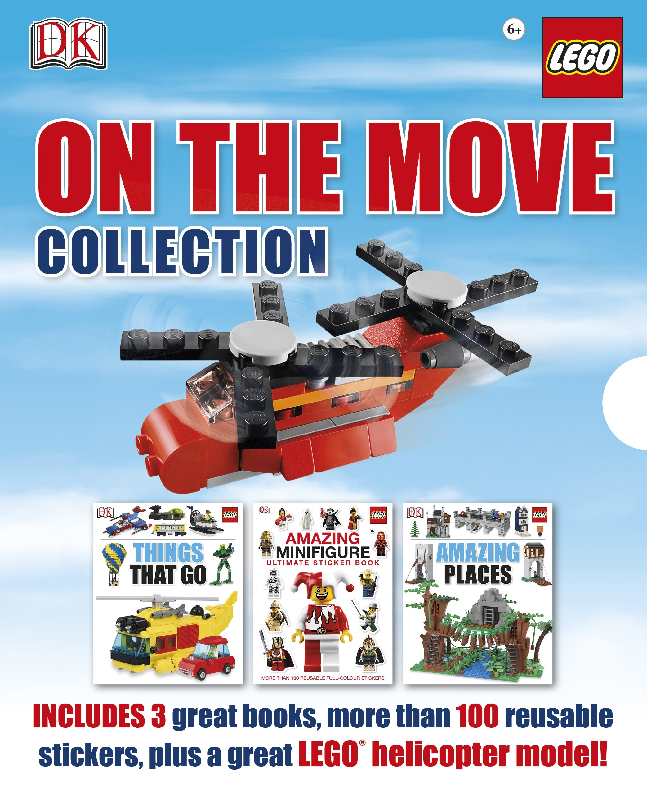 Book Cover:  LEGO®: On the Move Collection