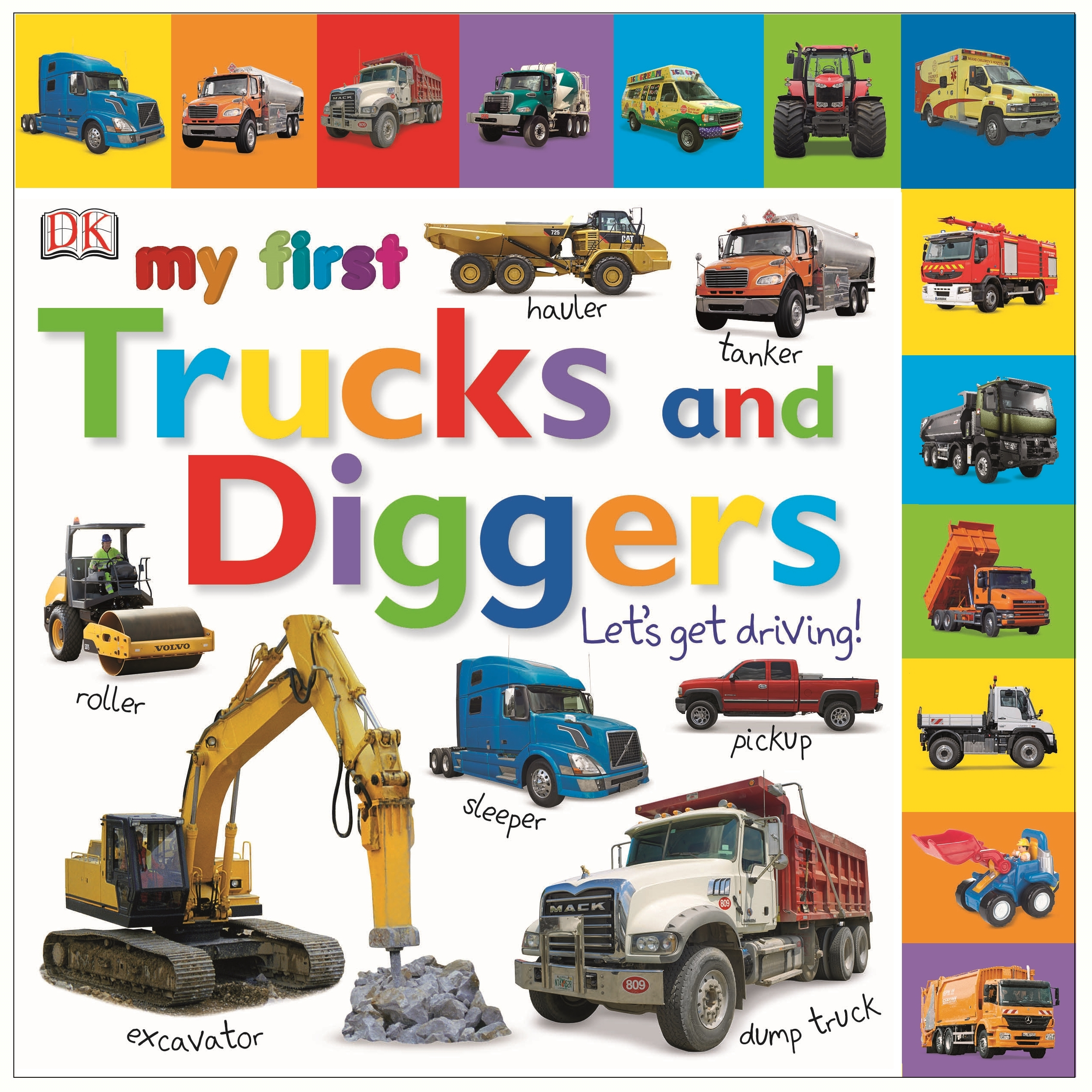 My First Trucks and Diggers: Let's Get Driving! | Penguin ...