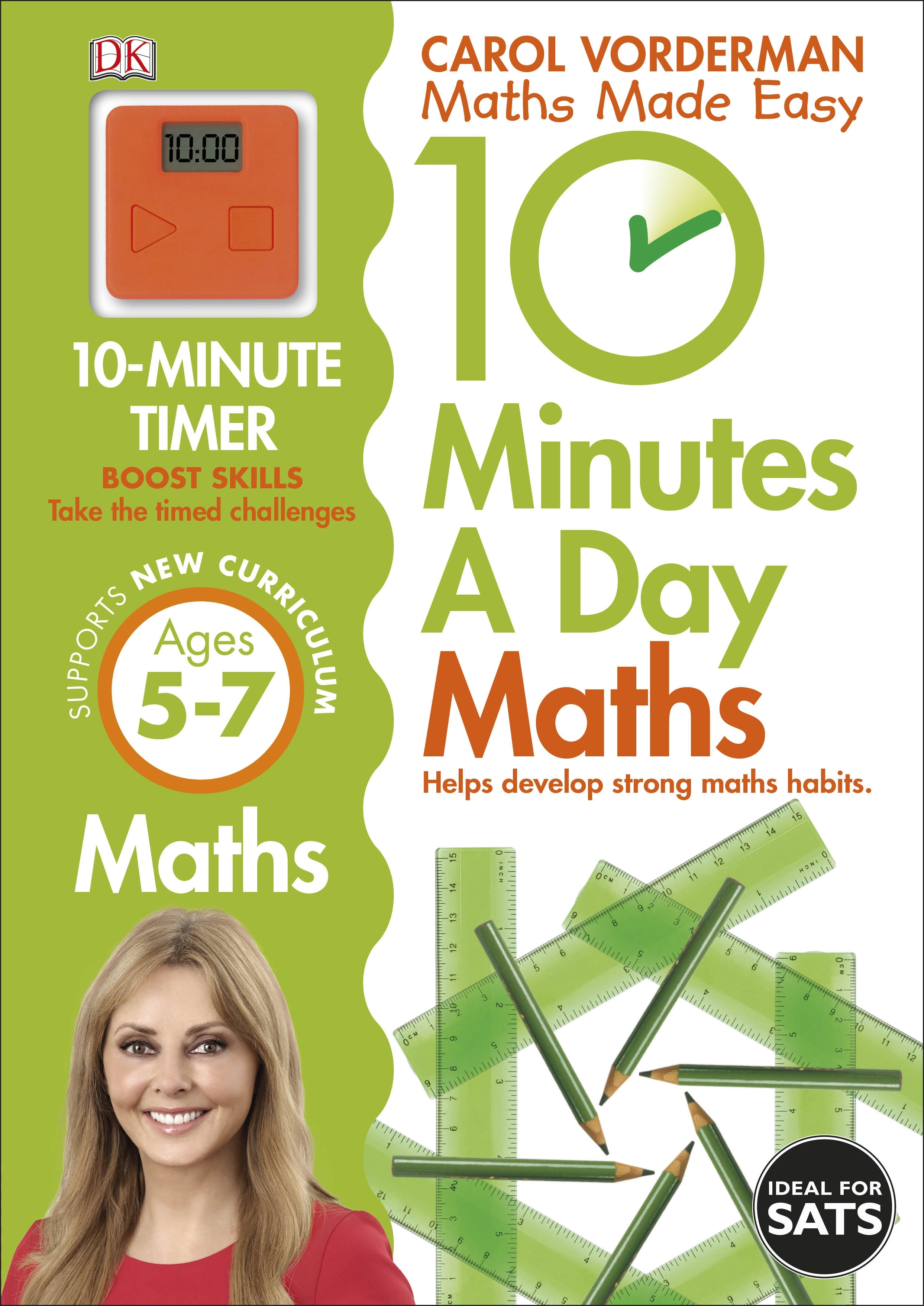 10 Minutes A Day Maths, Ages 5-7 (Key Stage 1)