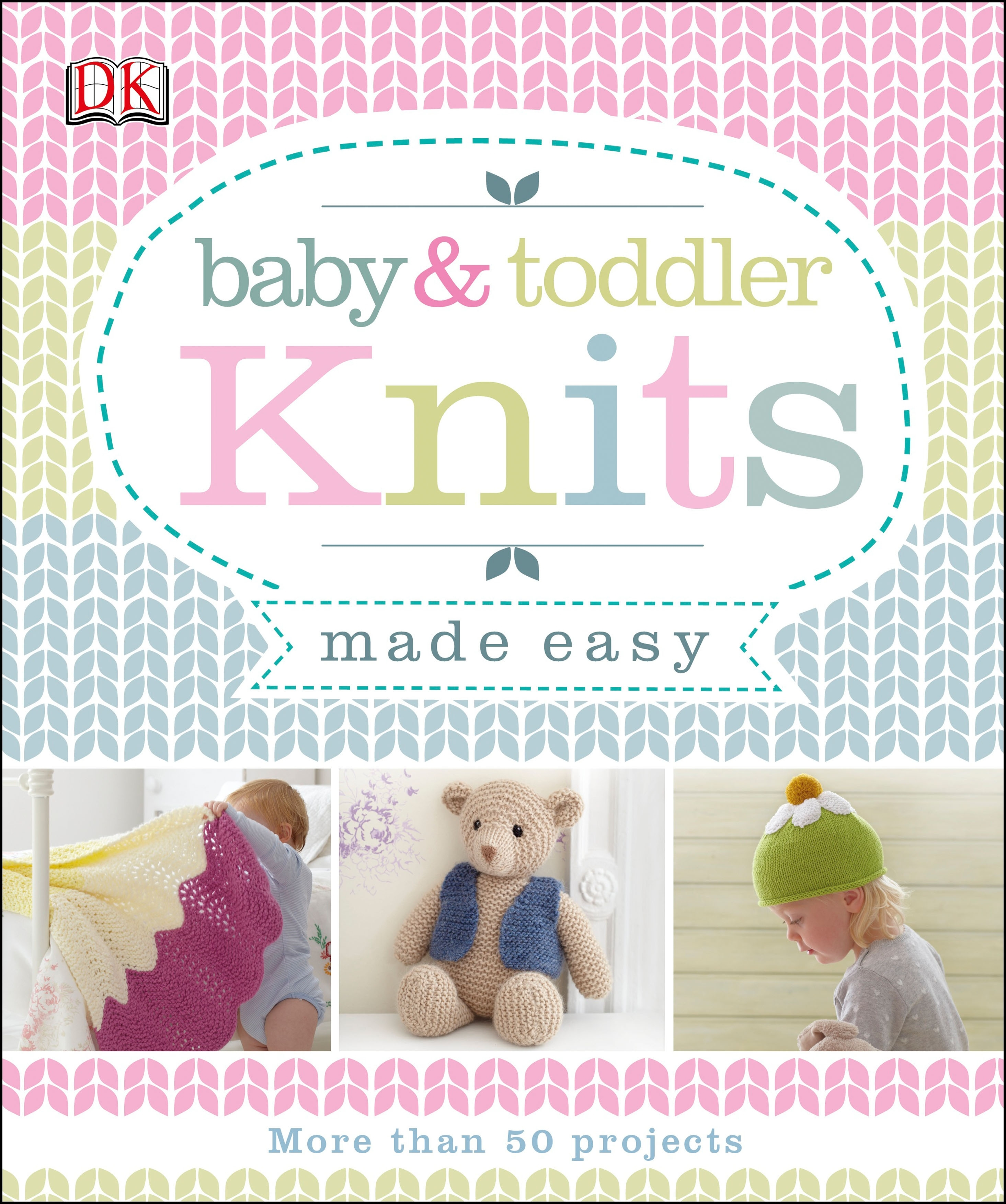 Book Cover:  Baby and Toddler Knits Made Easy