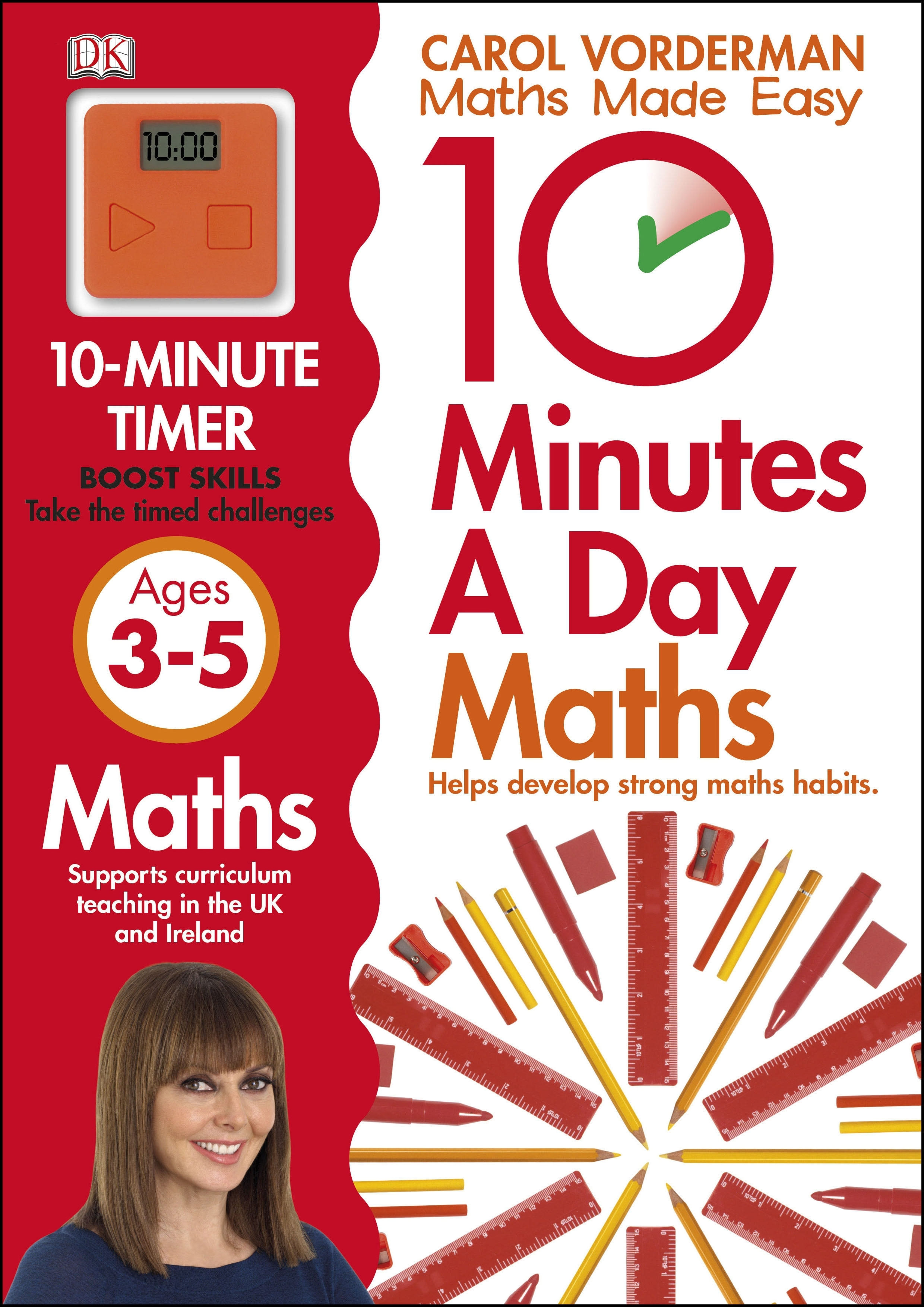 Book Cover:  10 Minutes a Day: Early Years Maths Skills