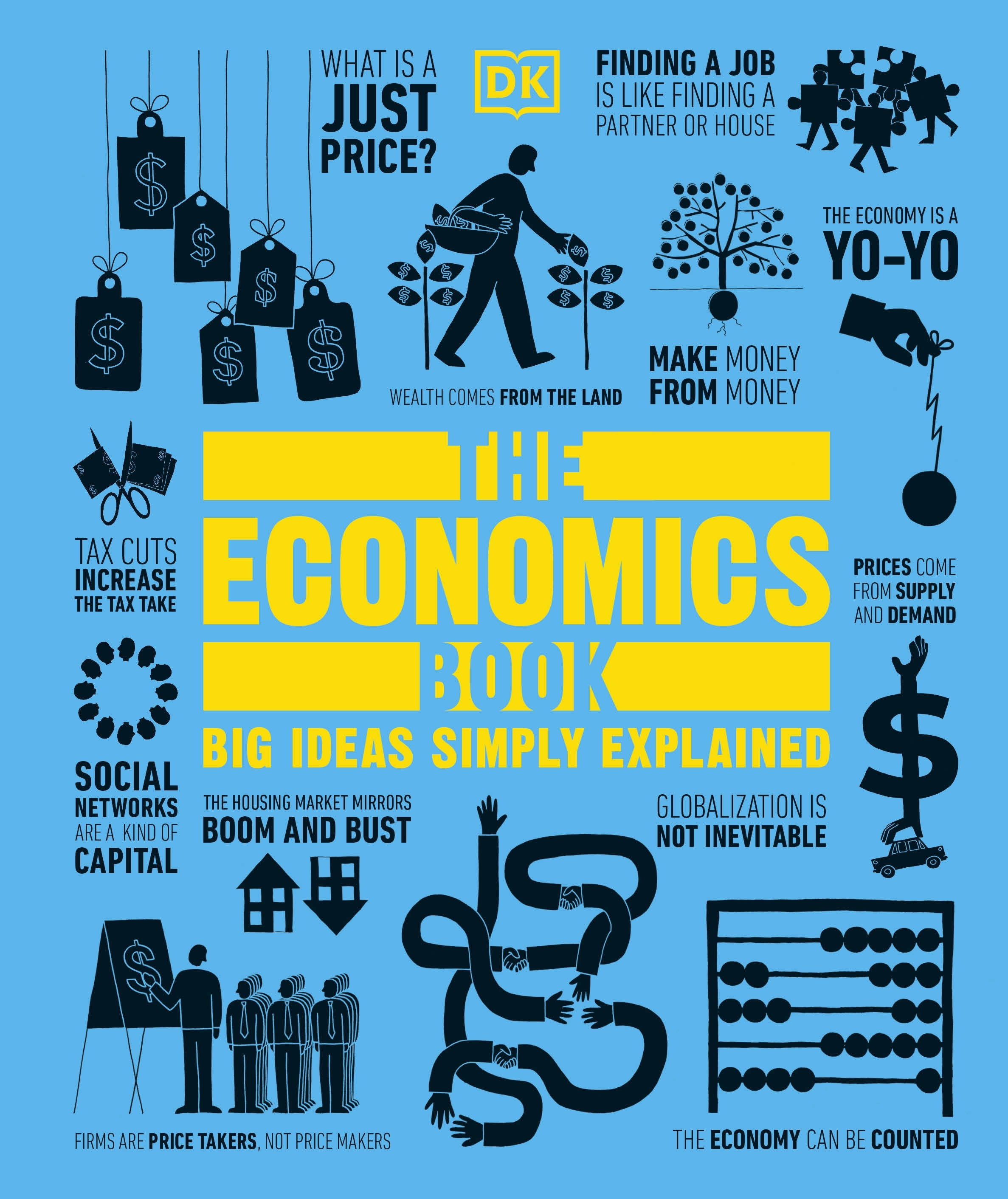 Book Cover: The Economics Book