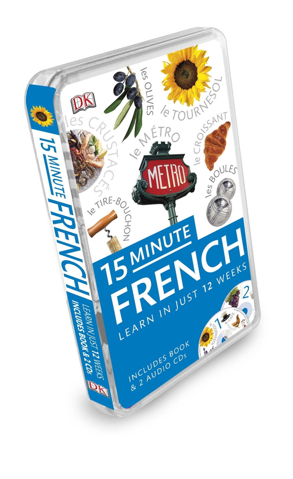 Book Cover:  15 Minute French: Learn in Just 12 Weeks: Book and CD Pack