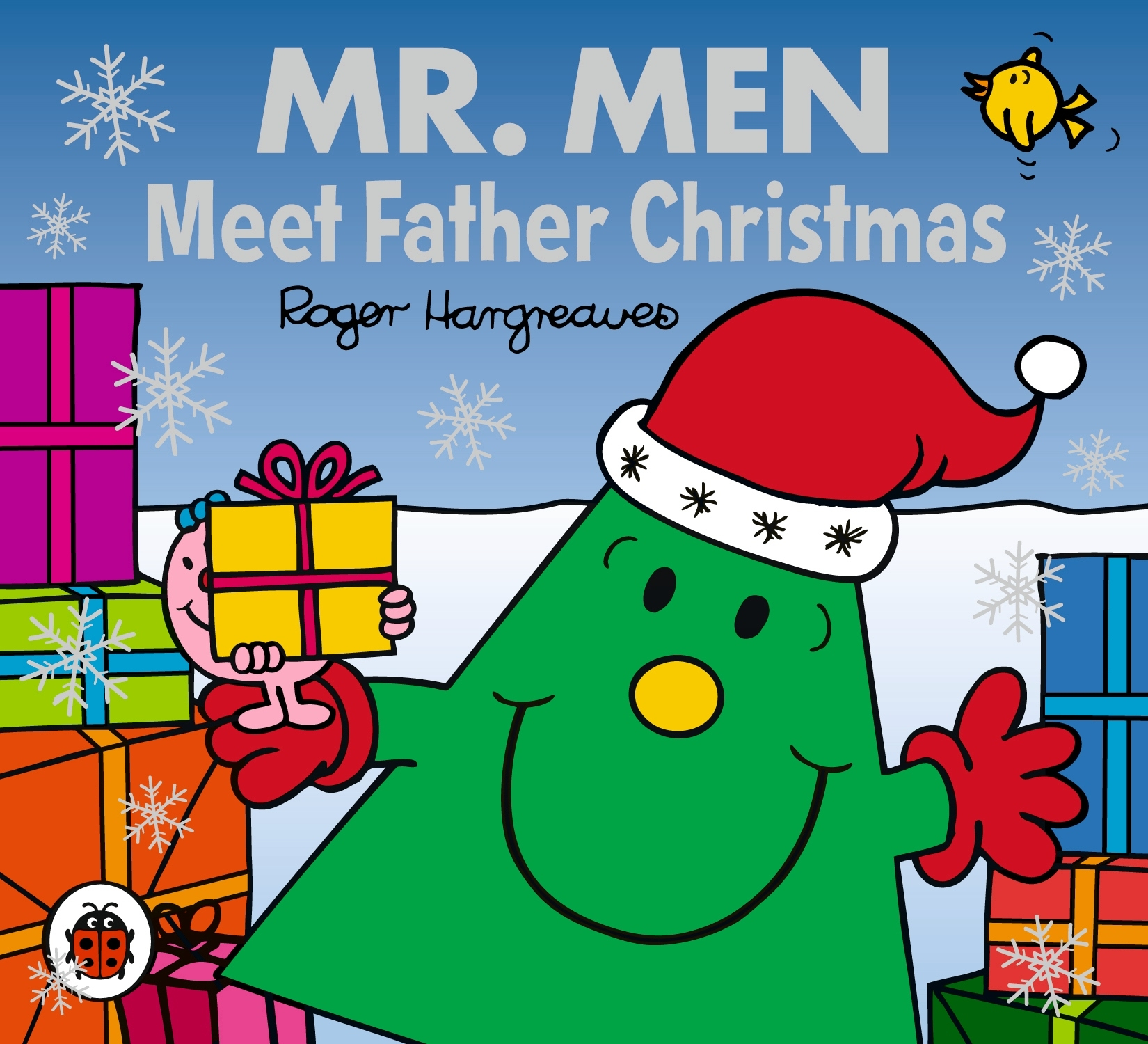 Book Cover:  Mr Men and Little Miss: Mr Men Meet Father Christmas