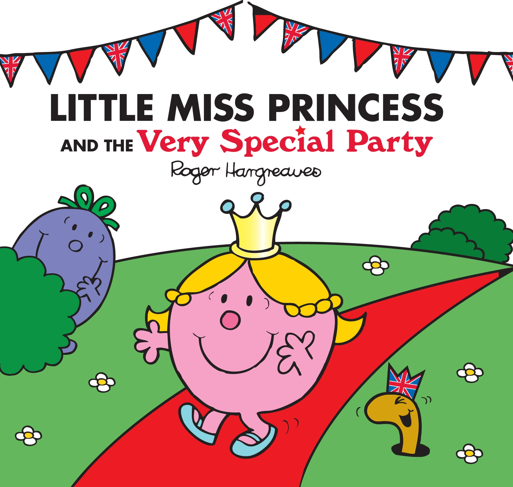 Book Cover:  Mr Men and Little Miss: Little Miss Princess and the Very Special Party