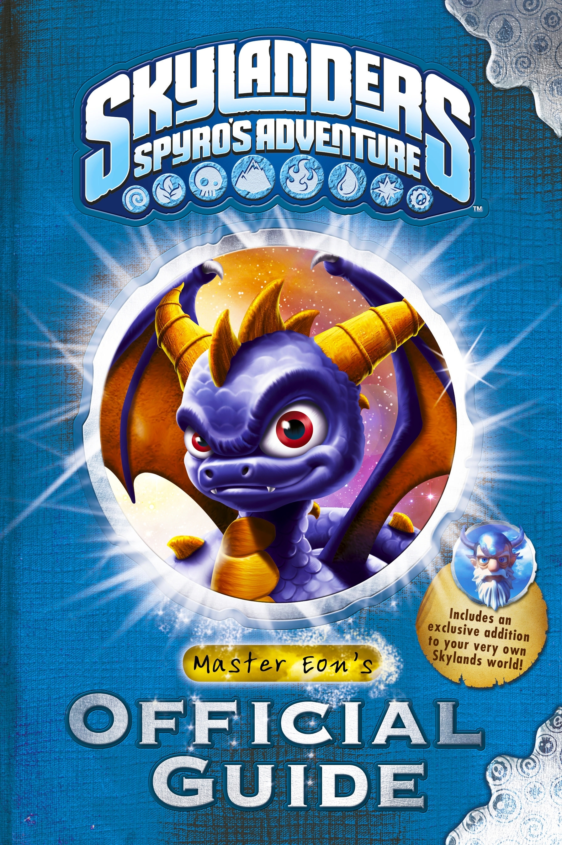 Book Cover:  Skylanders Spyro's Adventure: Master Eon's Official Guide