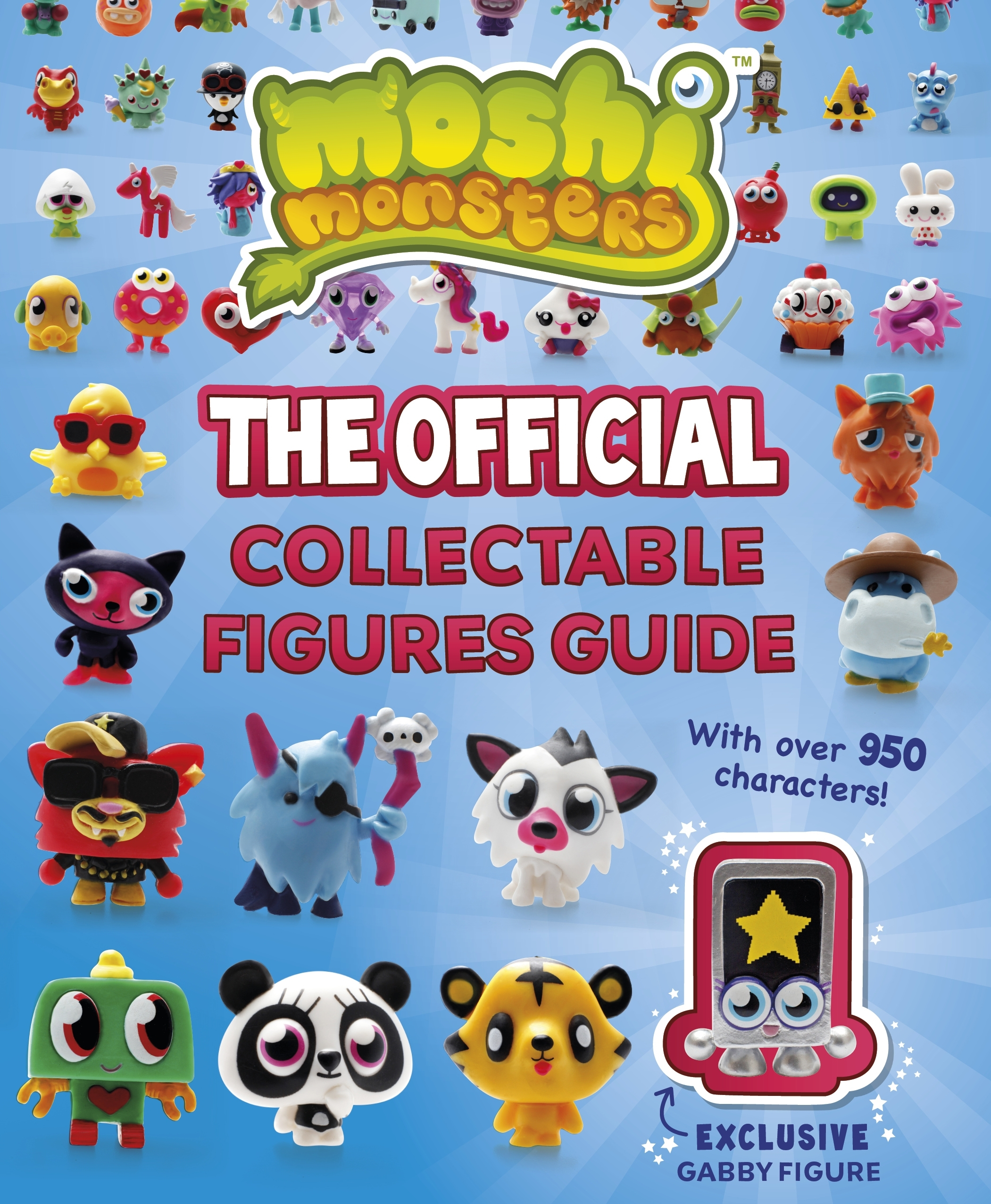 Book Cover:  Moshi Monsters: The Official Collectable Figures Guide