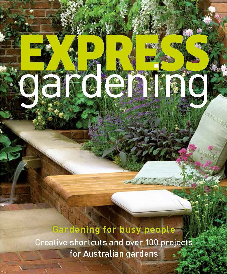 Book Cover:  Express Gardening