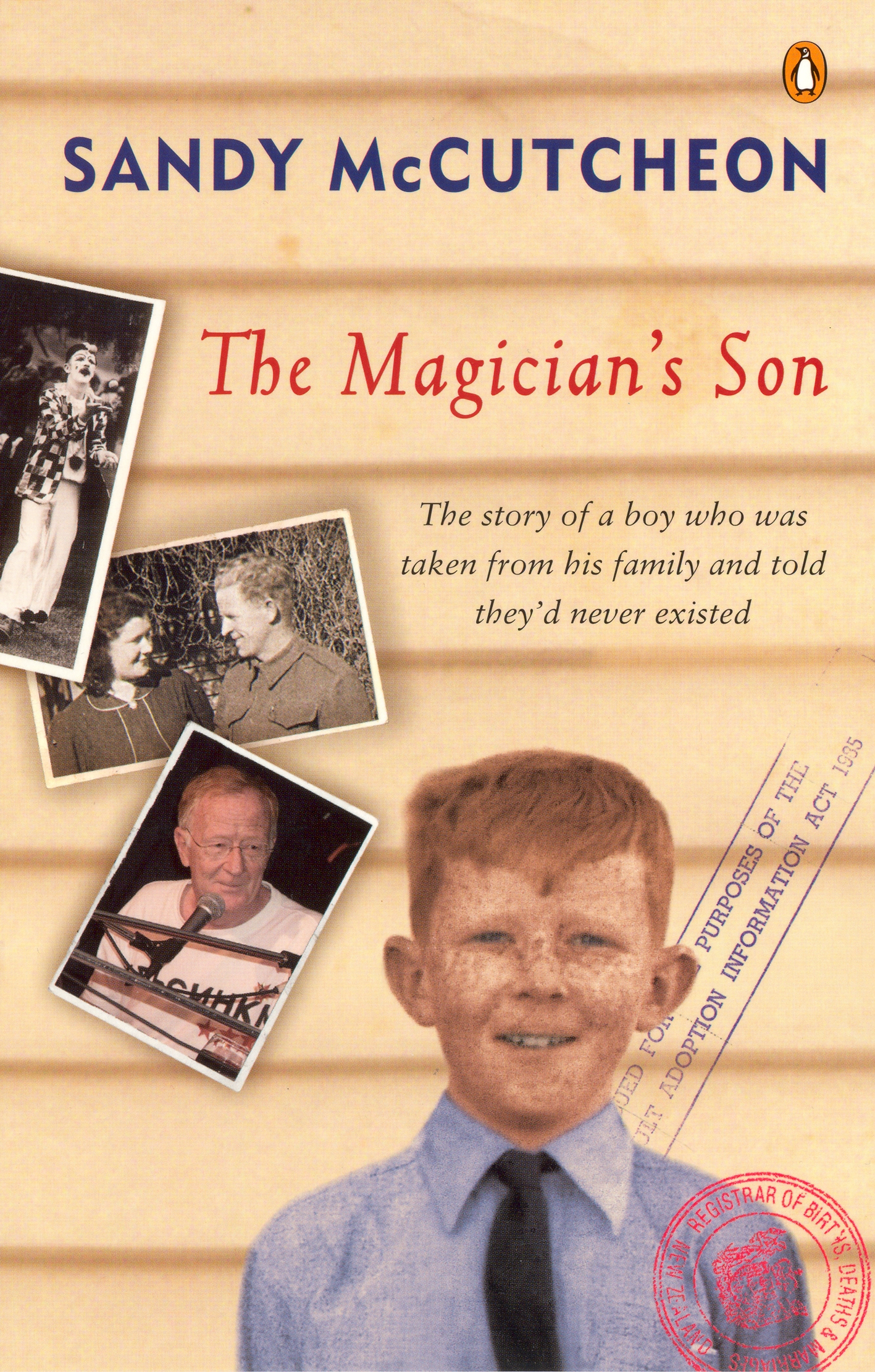Book Cover:  Magician's Son