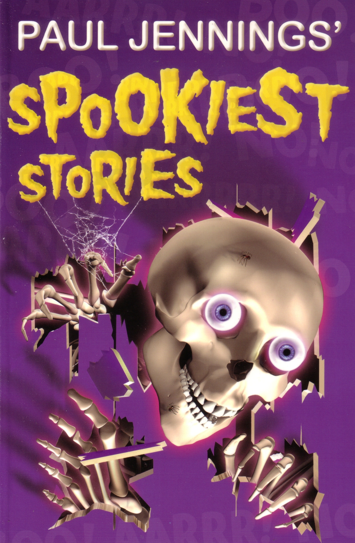 Book Cover:  Paul Jenning's Spookiest Stories