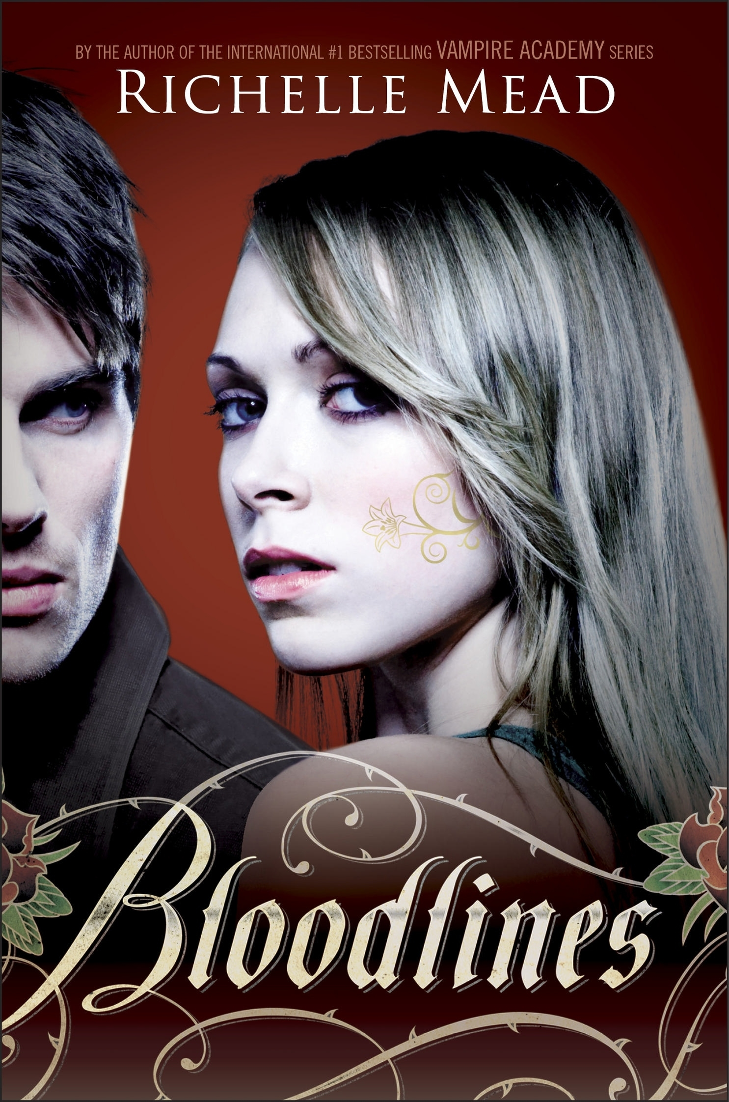 Book Cover:  Bloodlines V1
