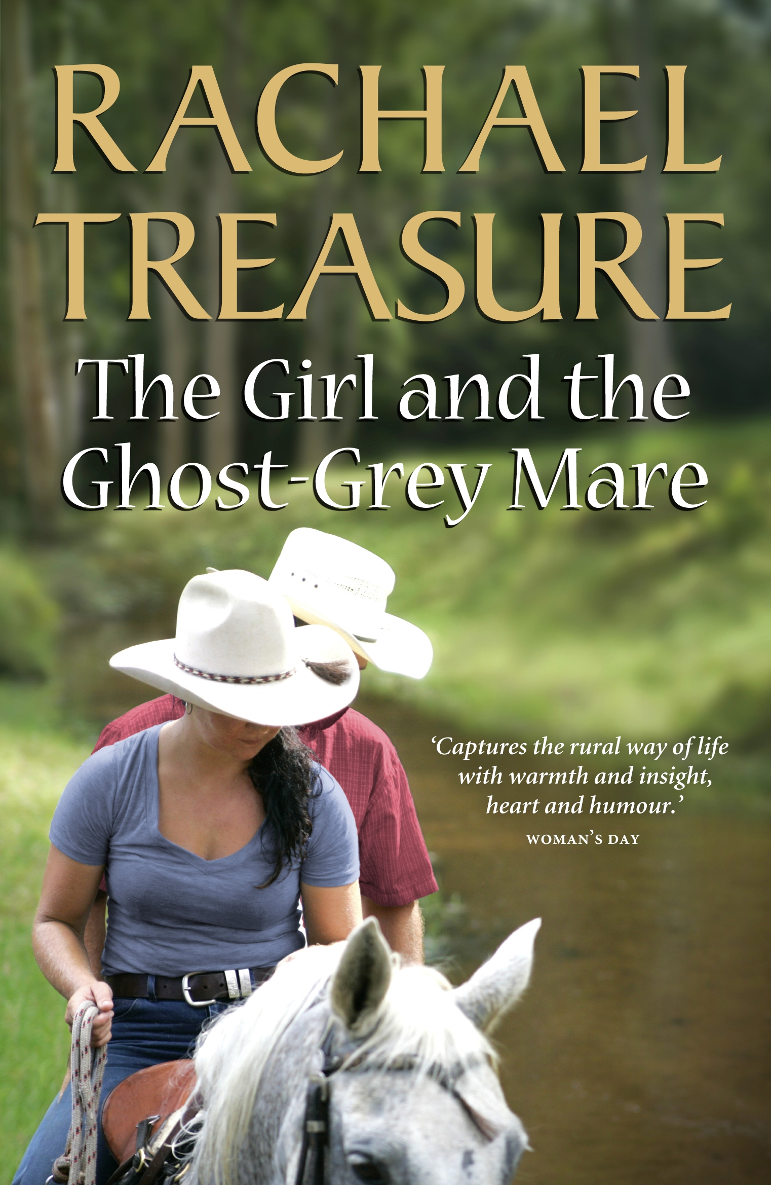 Book Cover:  Girl & the Ghost-Grey Mare